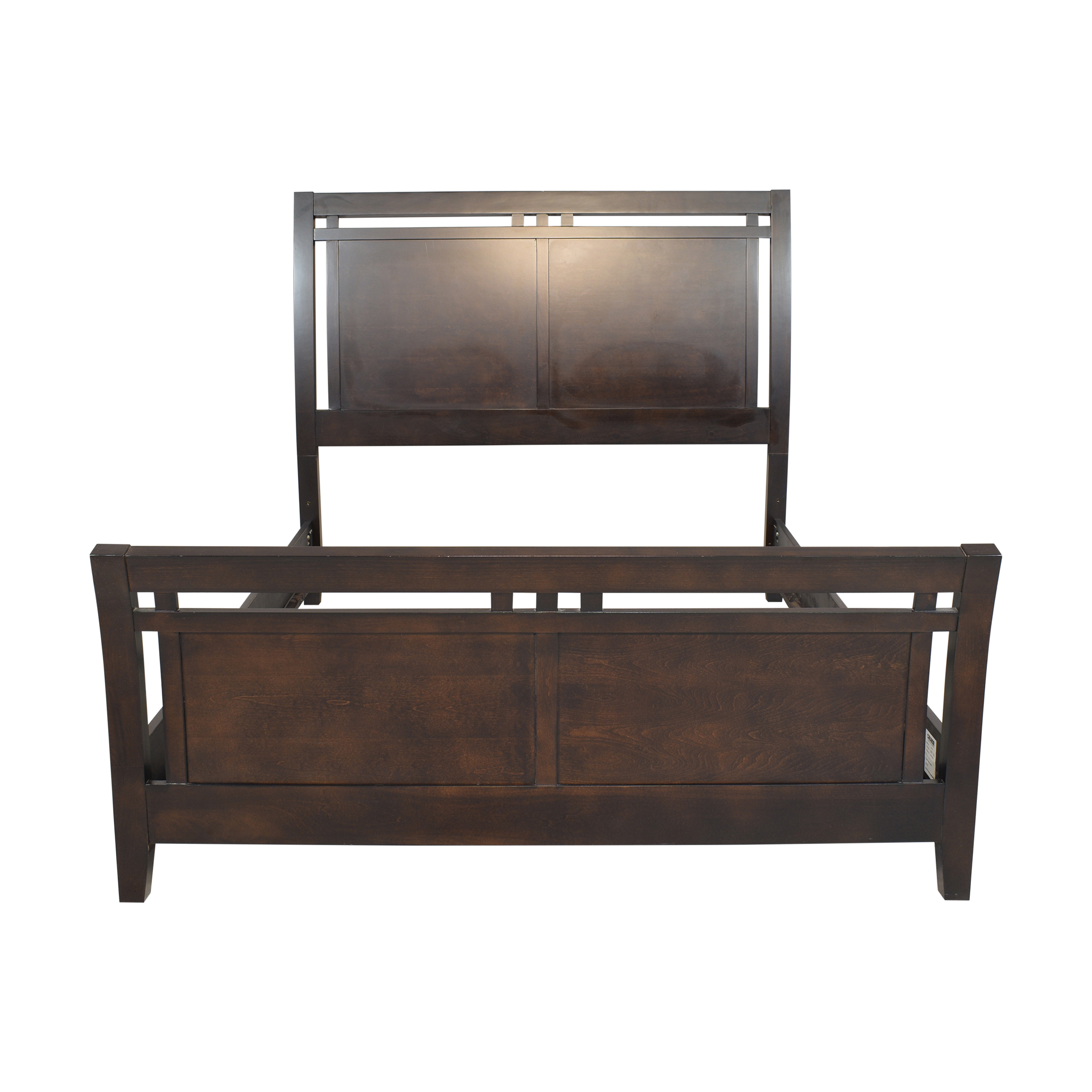 Raymour & Flanigan Raymour & Flanigan Queen Newport Sleigh Bed Beds