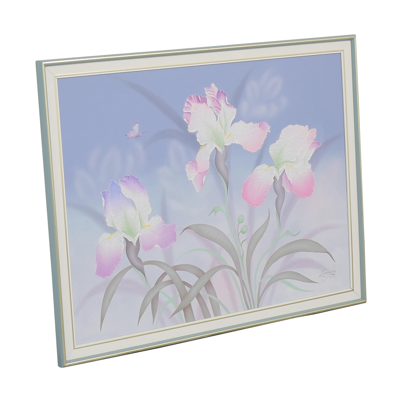 buy Seamans Framed Floral Wall Art Seamans Decor