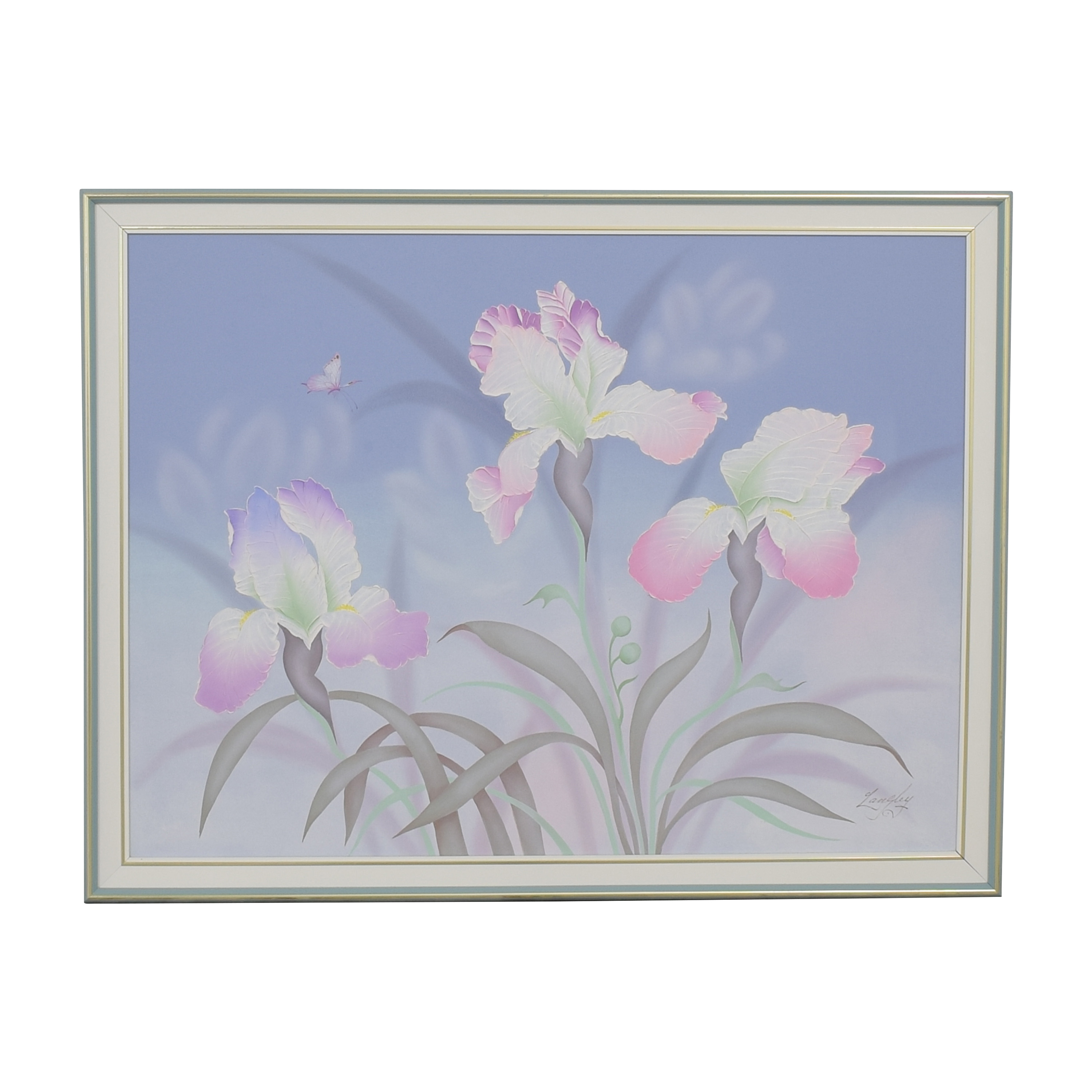 buy Seamans Framed Floral Wall Art Seamans