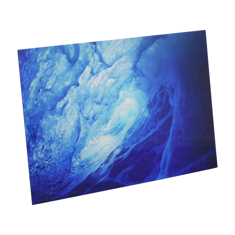buy  Aquabumps Blue Almond Art Print online