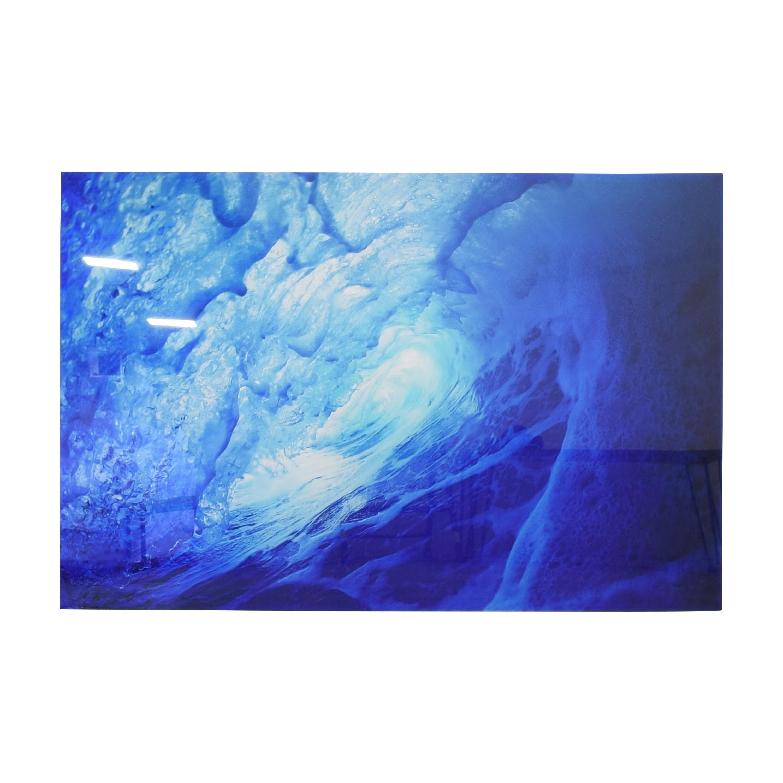 Aquabumps Blue Almond Art Print