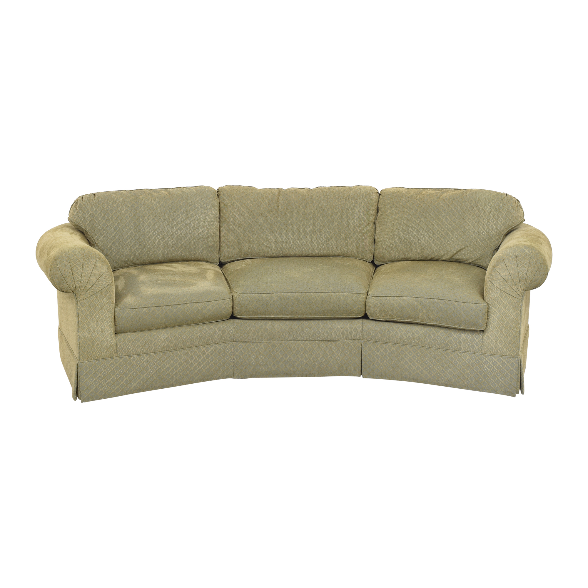 Sherrill Furniture Sherrill Roll Arm Conversation Sofa coupon