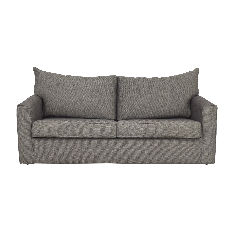 buy Raymour & Flanigan Raymour & Flanigan Trayce Chenille Queen Sleeper Sofa online