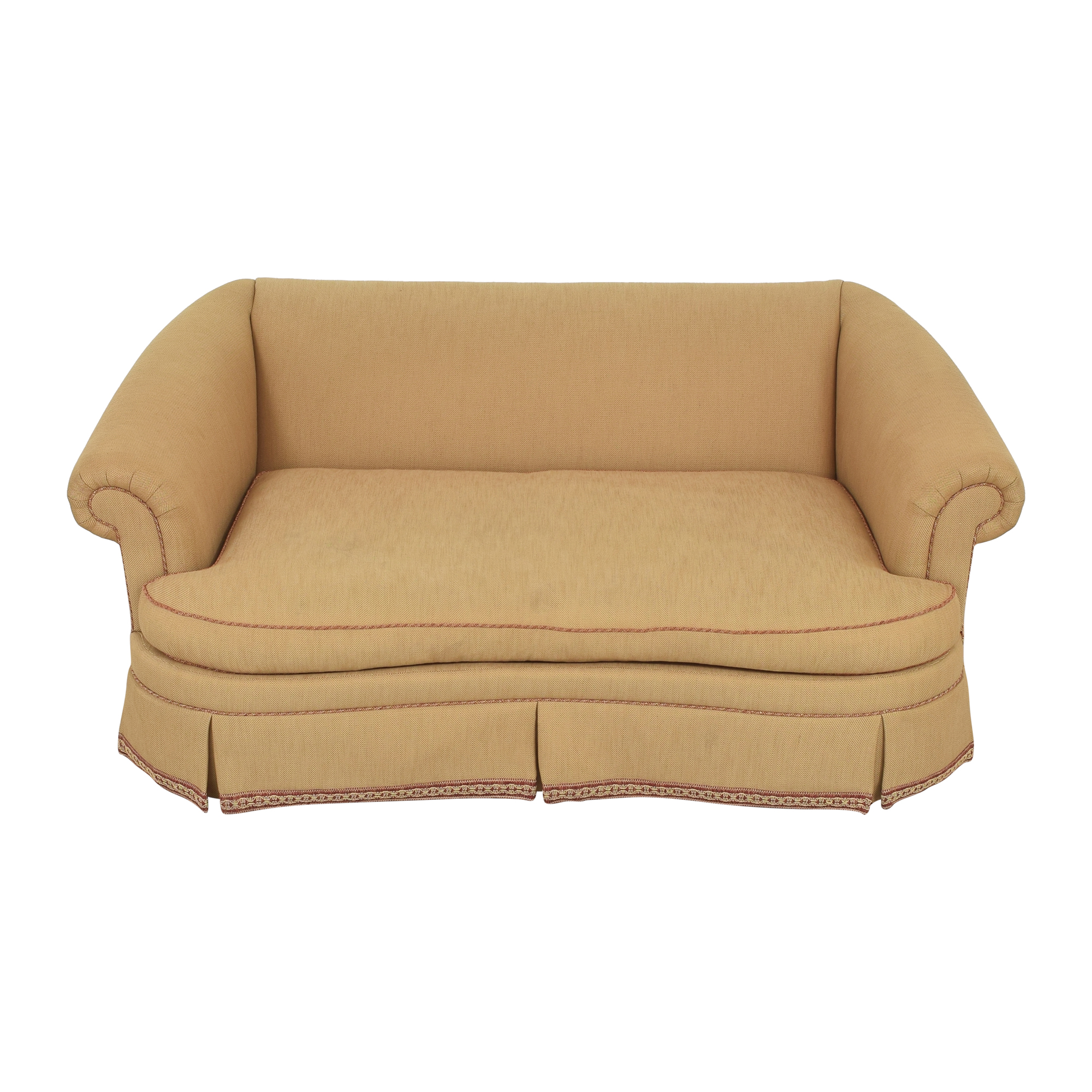 shop Ethan Allen Ethan Allen Roll Arm Skirted Sofa online
