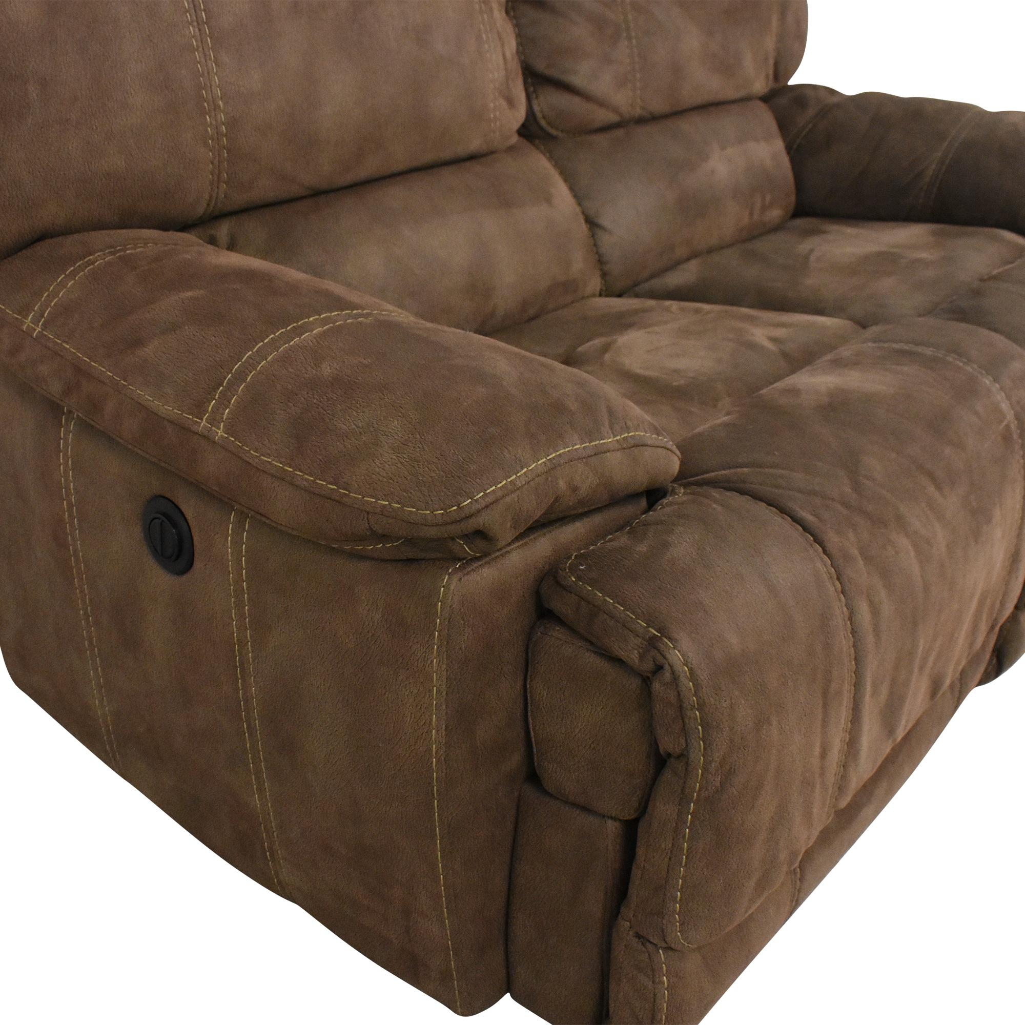 Macy's Macy's Power Reclining Felyx Sofa Classic Sofas