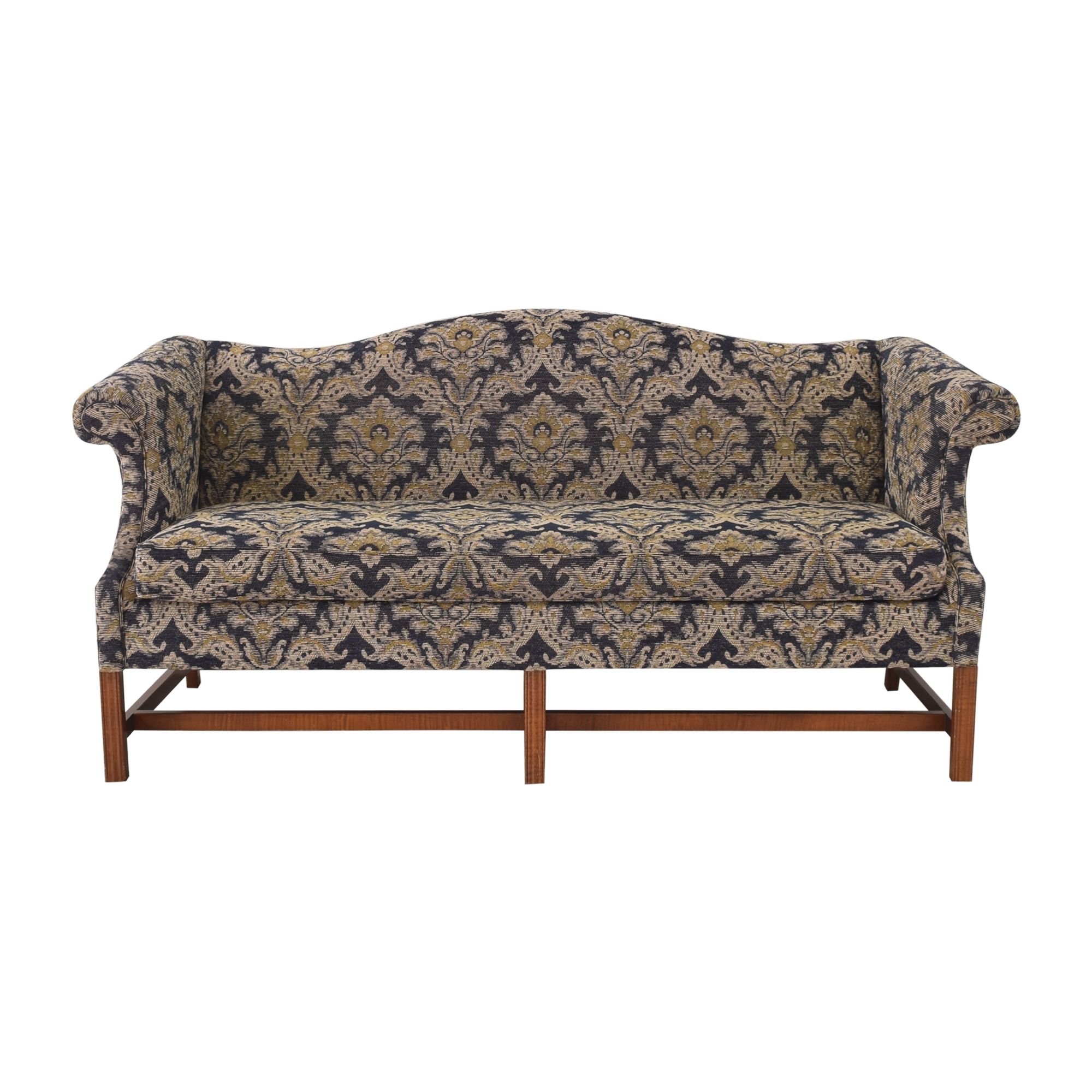 shop Clayton Marcus Camelback Chippendale Sofa Clayton Marcus
