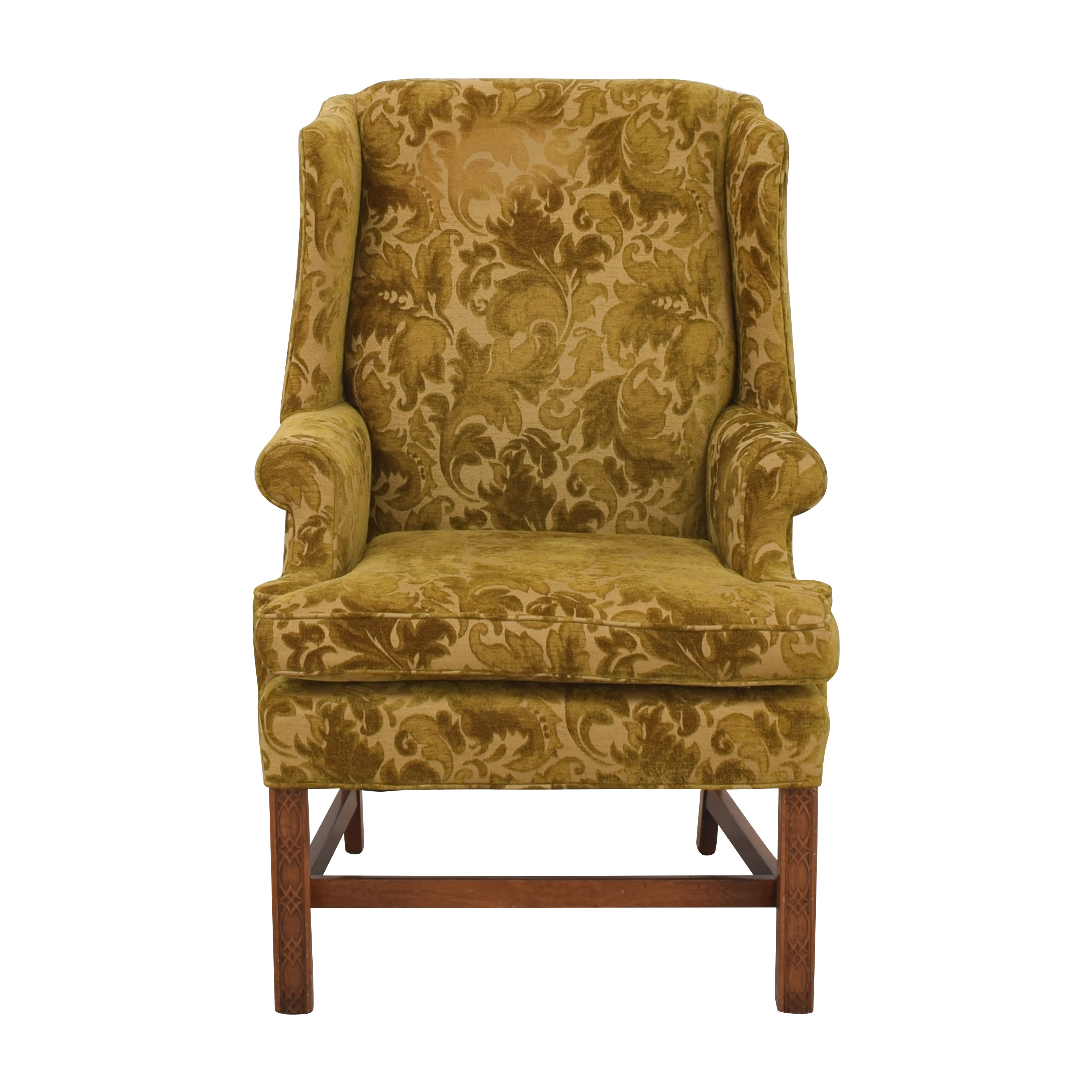 Clayton Marcus Clayton Marcus Wing Back Accent Chair second hand