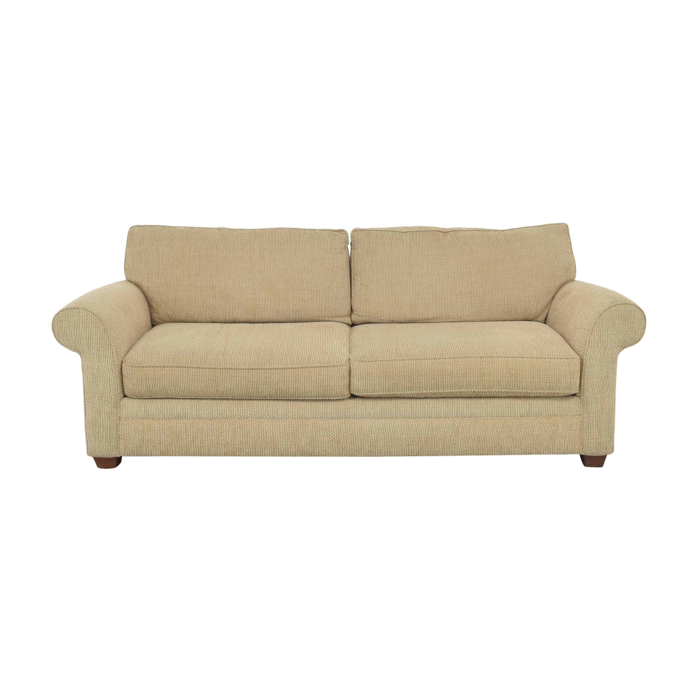 Two Cushion Roll Arm Sofa pa