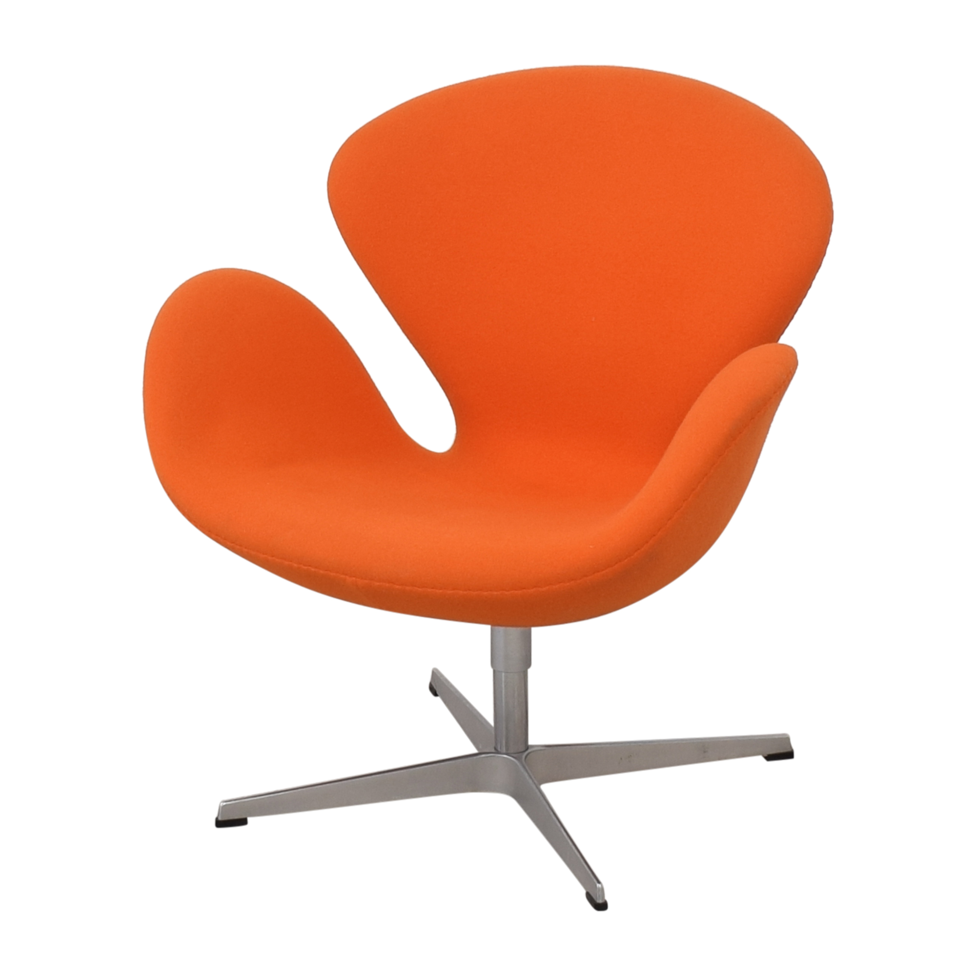 shop Fritz Hansen Swan Chair by Arne Jacobson Fritz Hansen Accent Chairs