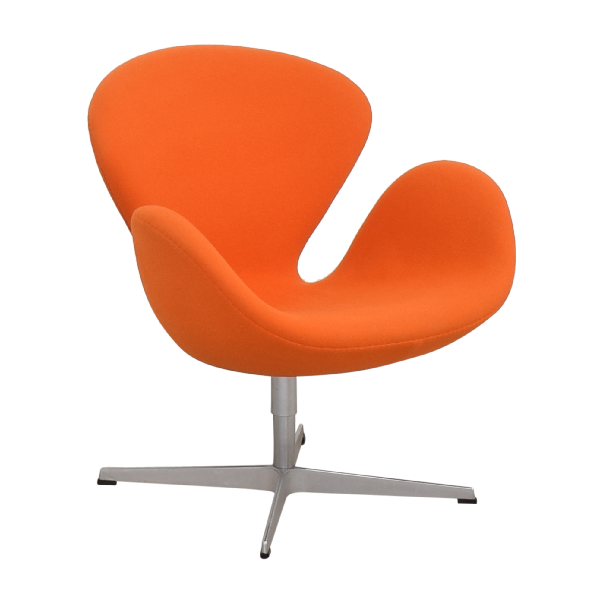buy Fritz Hansen Swan Chair by Arne Jacobson Fritz Hansen Accent Chairs