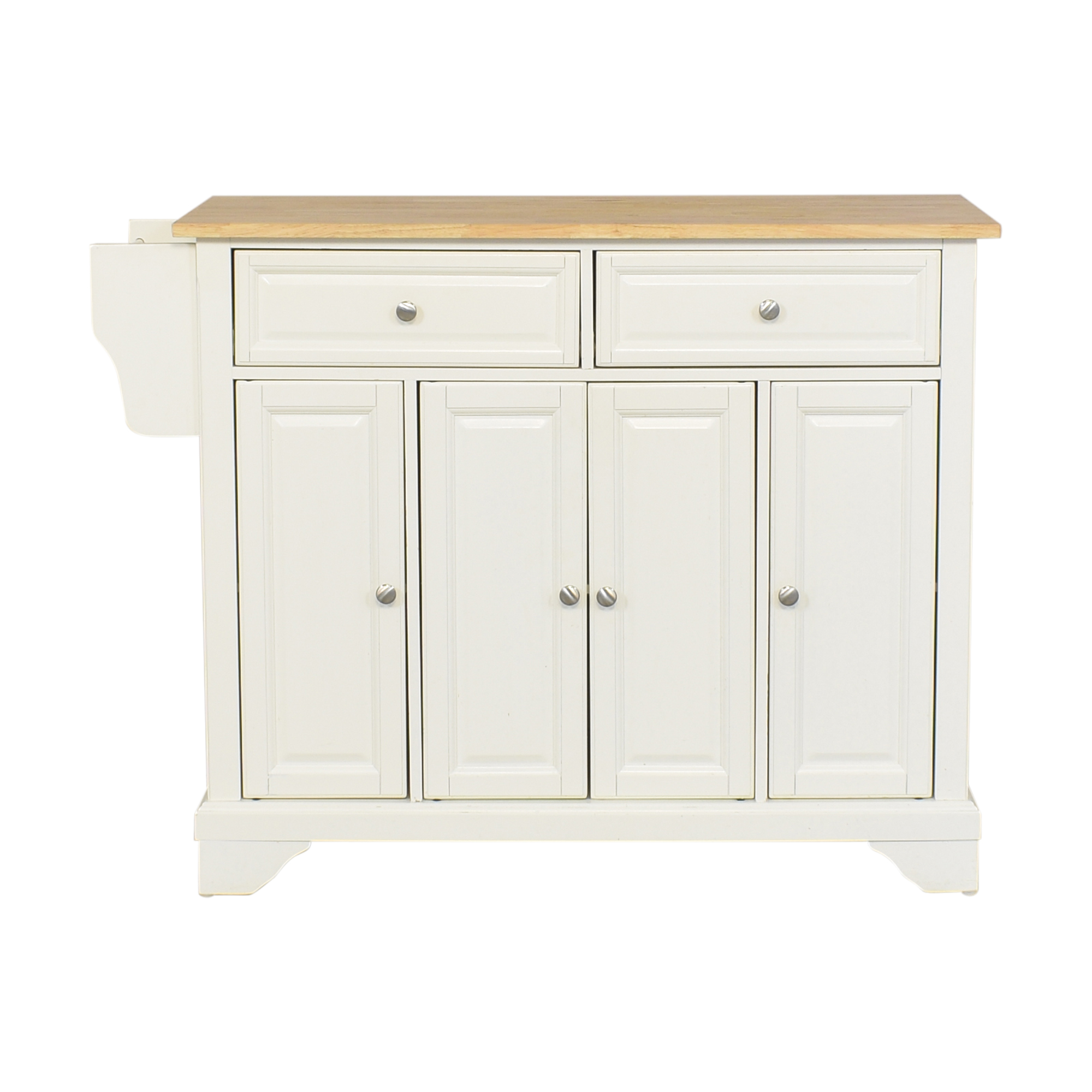 shop Wayfair Three Posts Kitchen Island Wayfair
