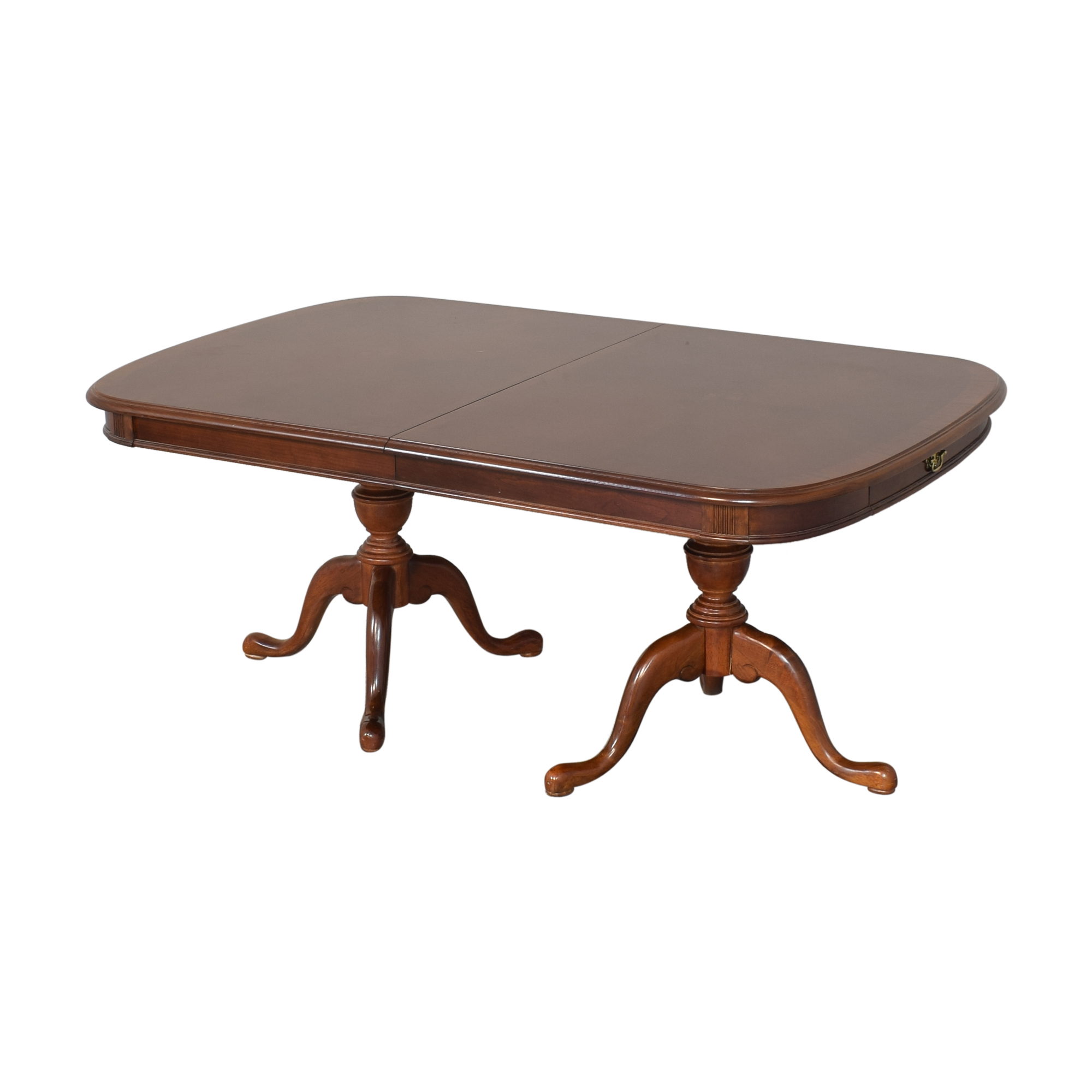 buy Universal Furniture Double Pedestal Extending Dining Table Universal Furniture Dinner Tables