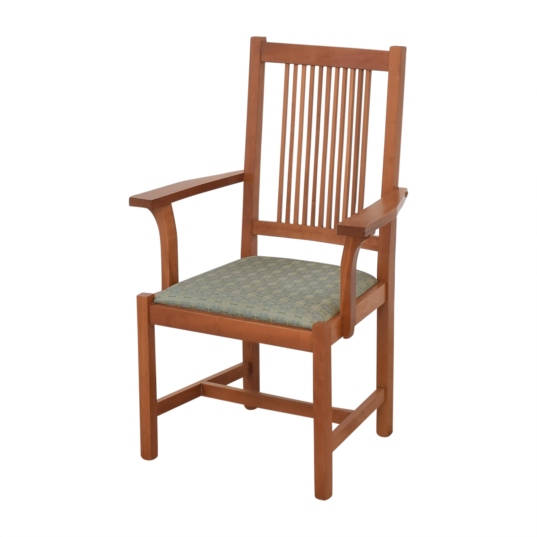Scott Jordan Furniture Scott Jordan Mission Style Dining Chairs dimensions
