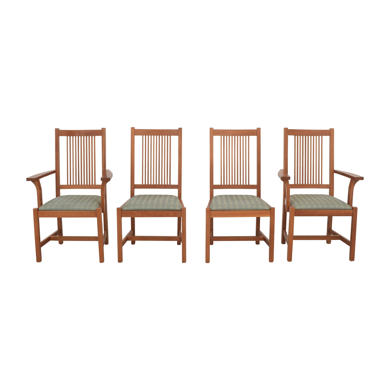 Scott Jordan Furniture Scott Jordan Mission Style Dining Chairs nj
