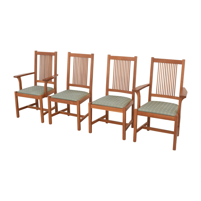 buy Scott Jordan Mission Style Dining Chairs Scott Jordan Furniture