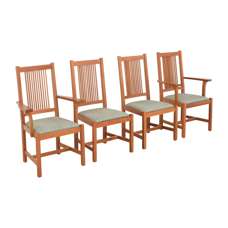 Scott Jordan Furniture Scott Jordan Mission Style Dining Chairs