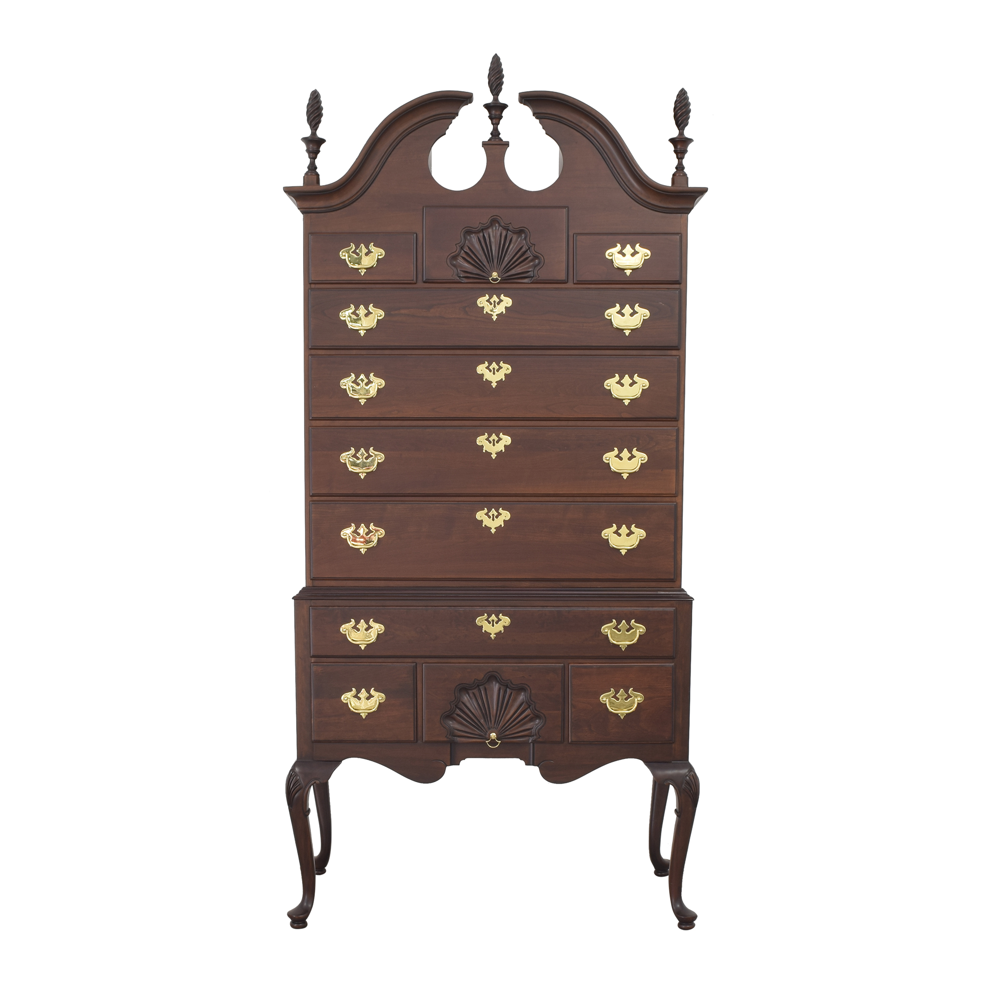 buy Ethan Allen Queen Anne Highboy Ethan Allen Storage