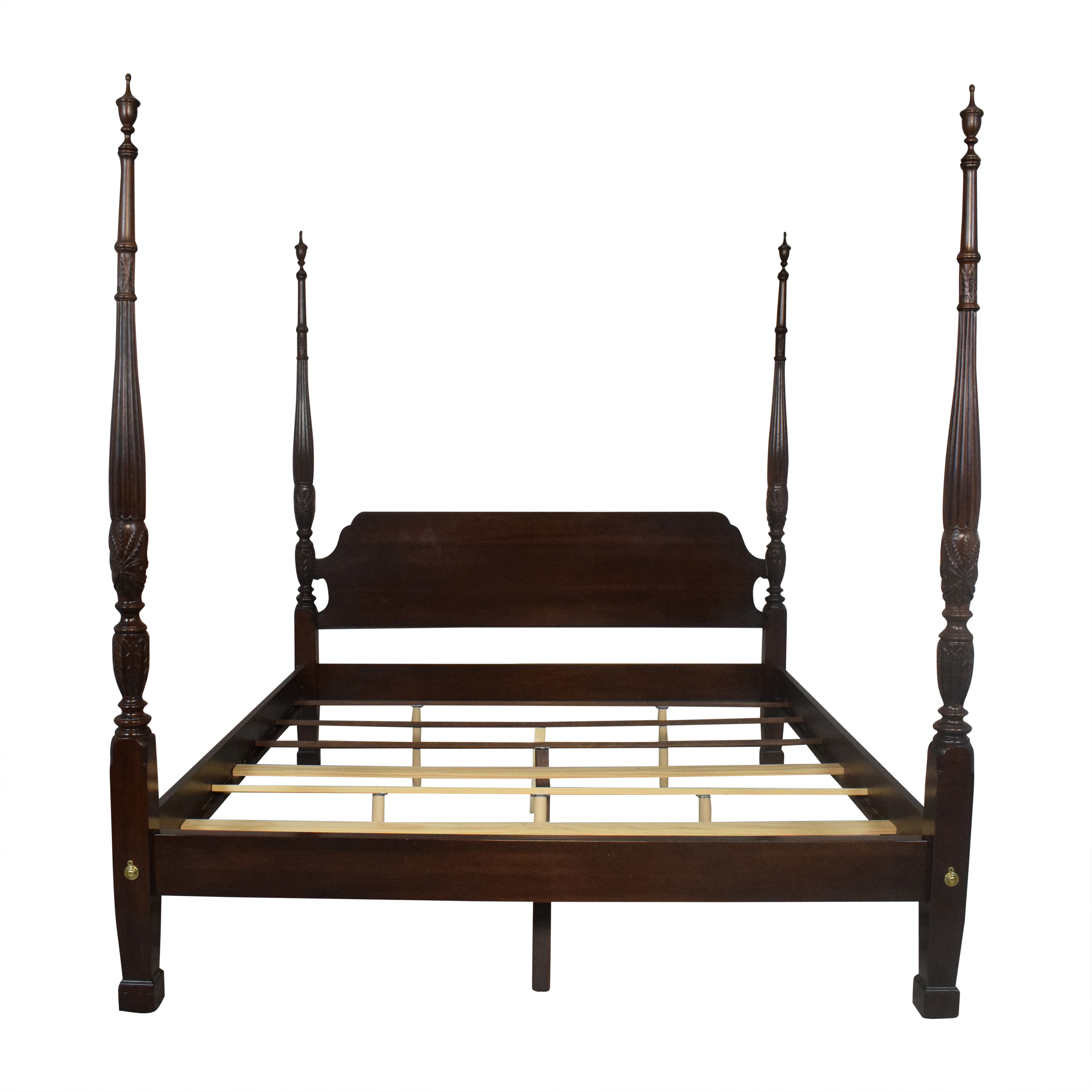 buy Ethan Allen Georgian Court Four Poster King Bed Ethan Allen Beds