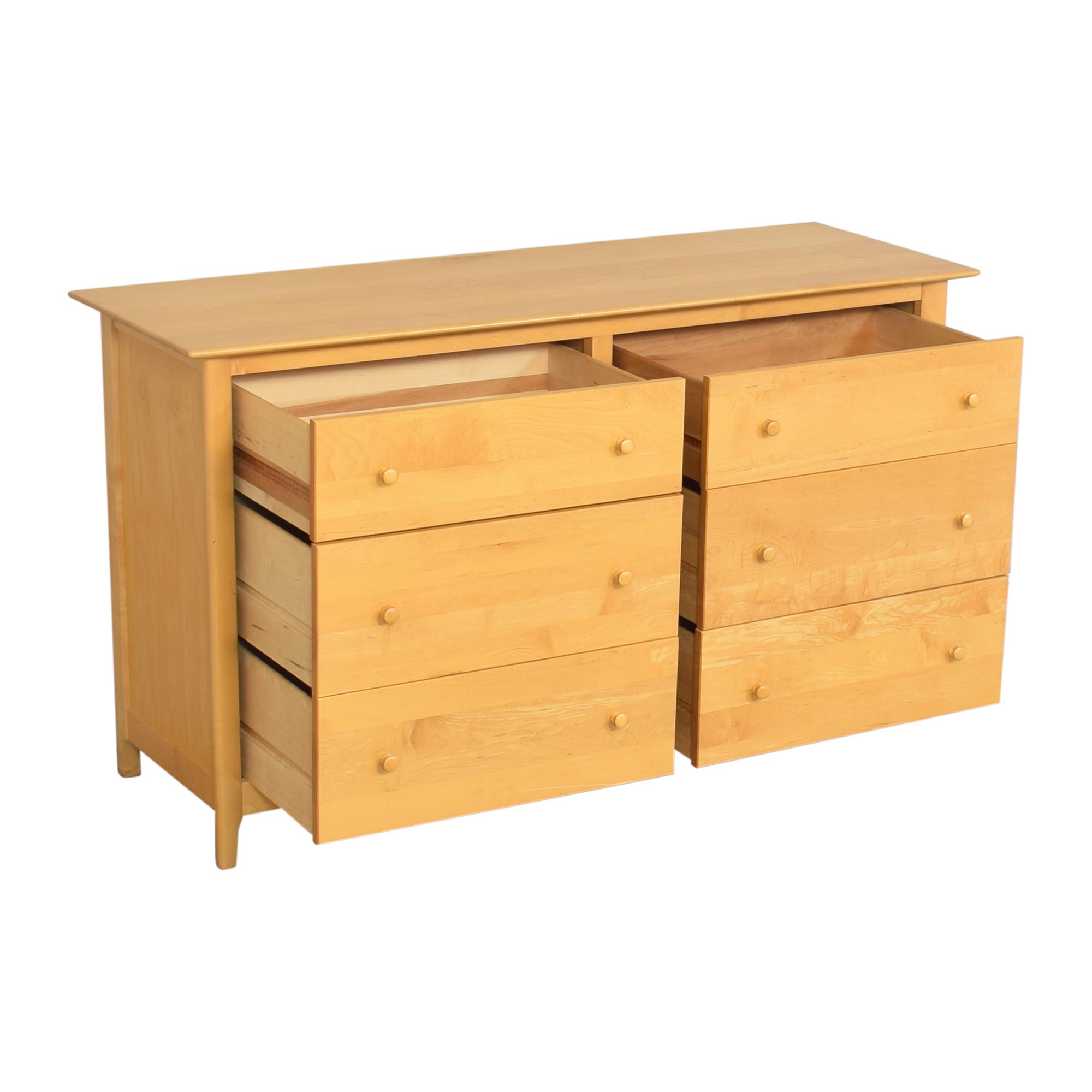 shop Copeland Sarah Six Drawer Dresser Copeland Furniture