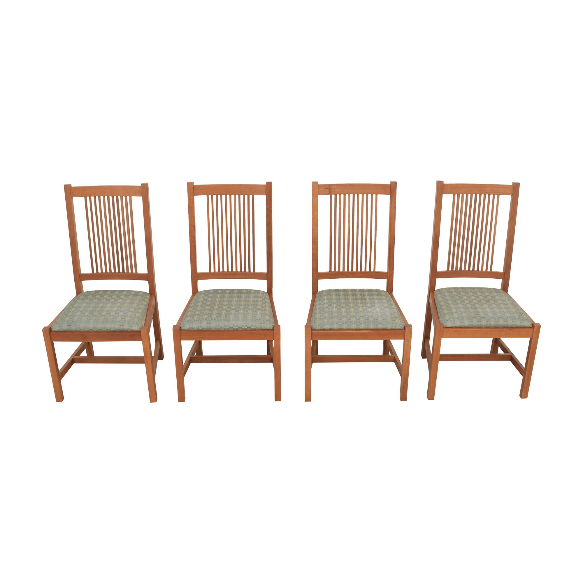 Scott Jordan Furniture Scott Jordan Mission Style Dining Chairs used