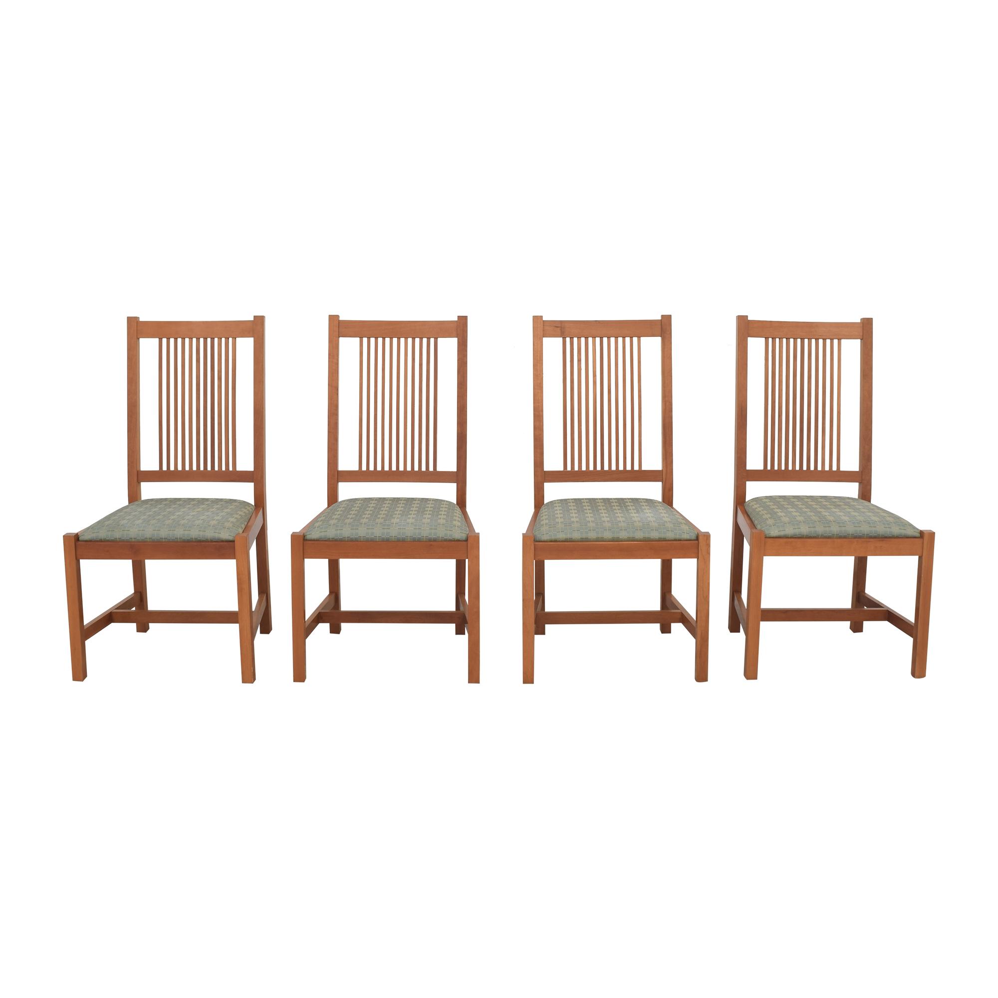 Scott Jordan Furniture Scott Jordan Mission Style Dining Chairs ma