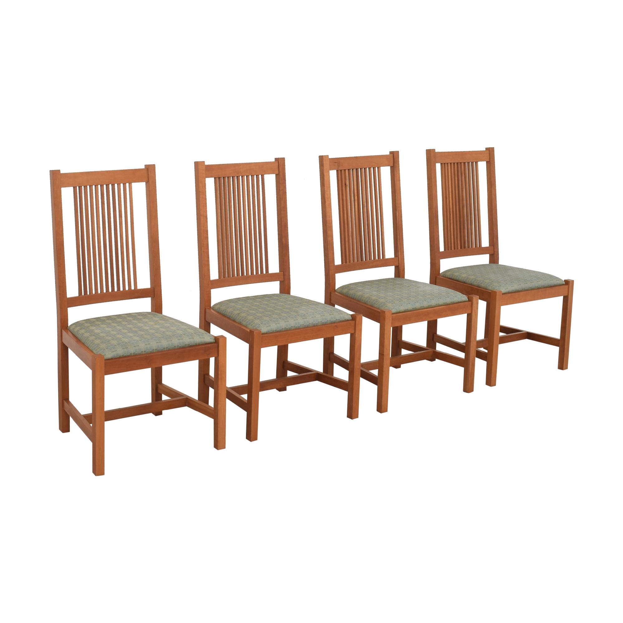 Scott Jordan Mission Style Dining Chairs sale