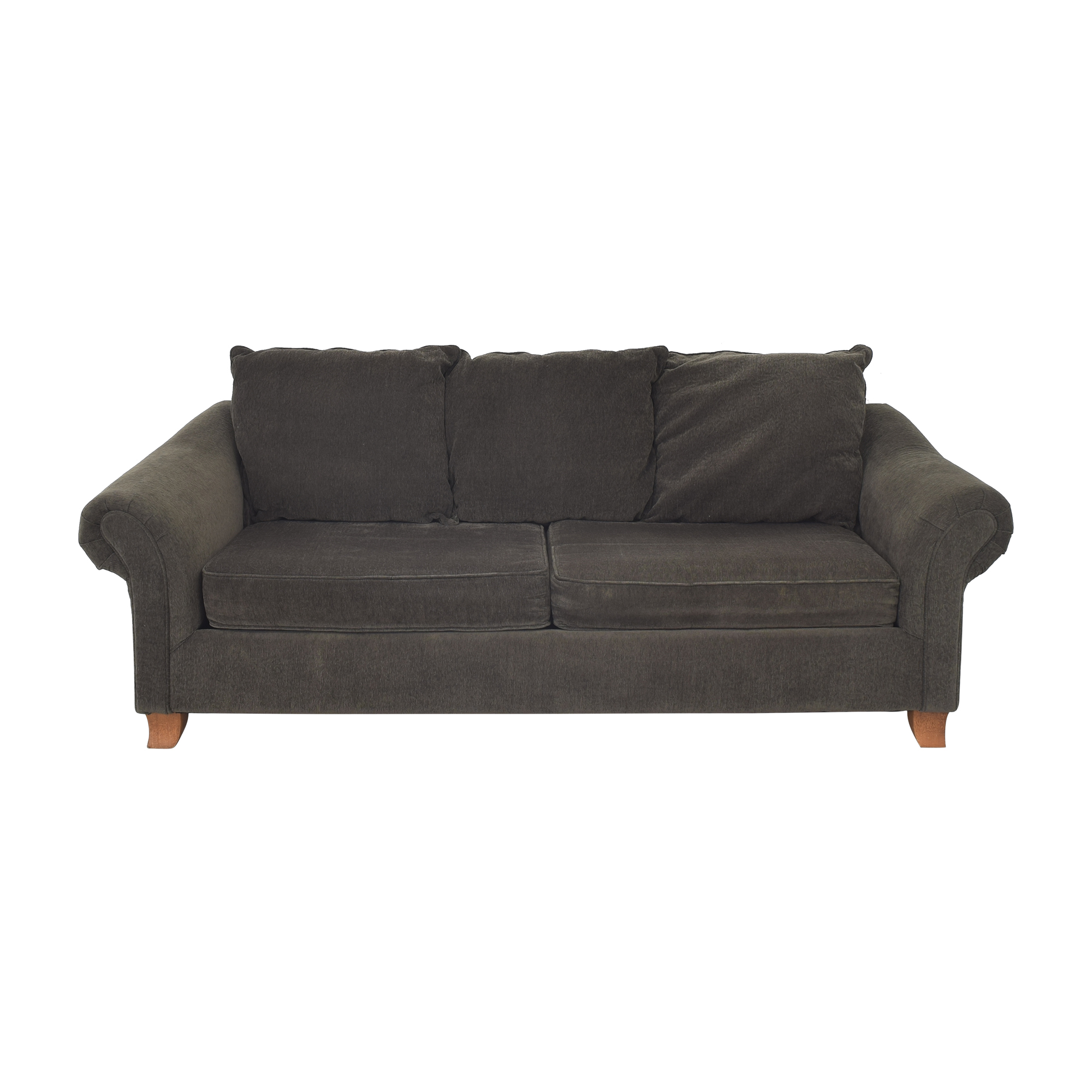 Hughes Furniture Hughes Furniture Curved Arm Sofa Classic Sofas