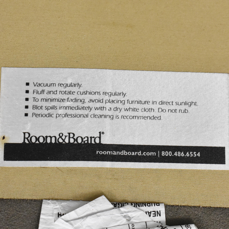 shop Room & Board Room & Board York Two Cushion Sofa online