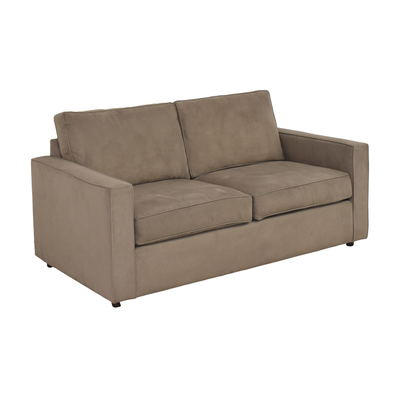 Room & Board Room & Board York Two Cushion Sofa Classic Sofas