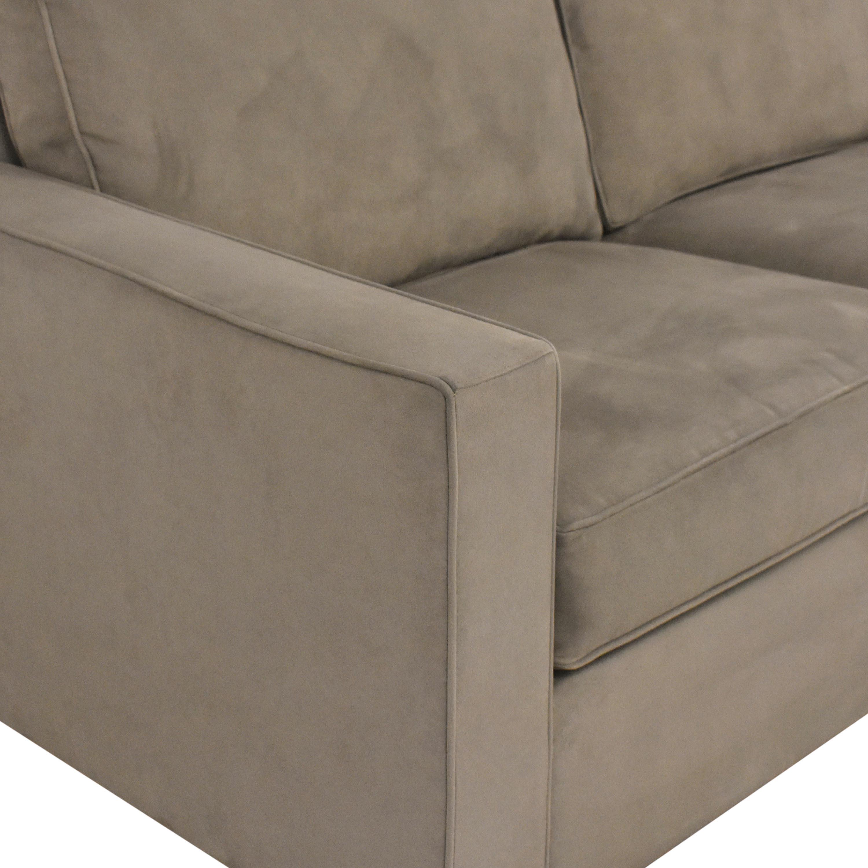 Room & Board Room & Board York Two Cushion Sofa nyc