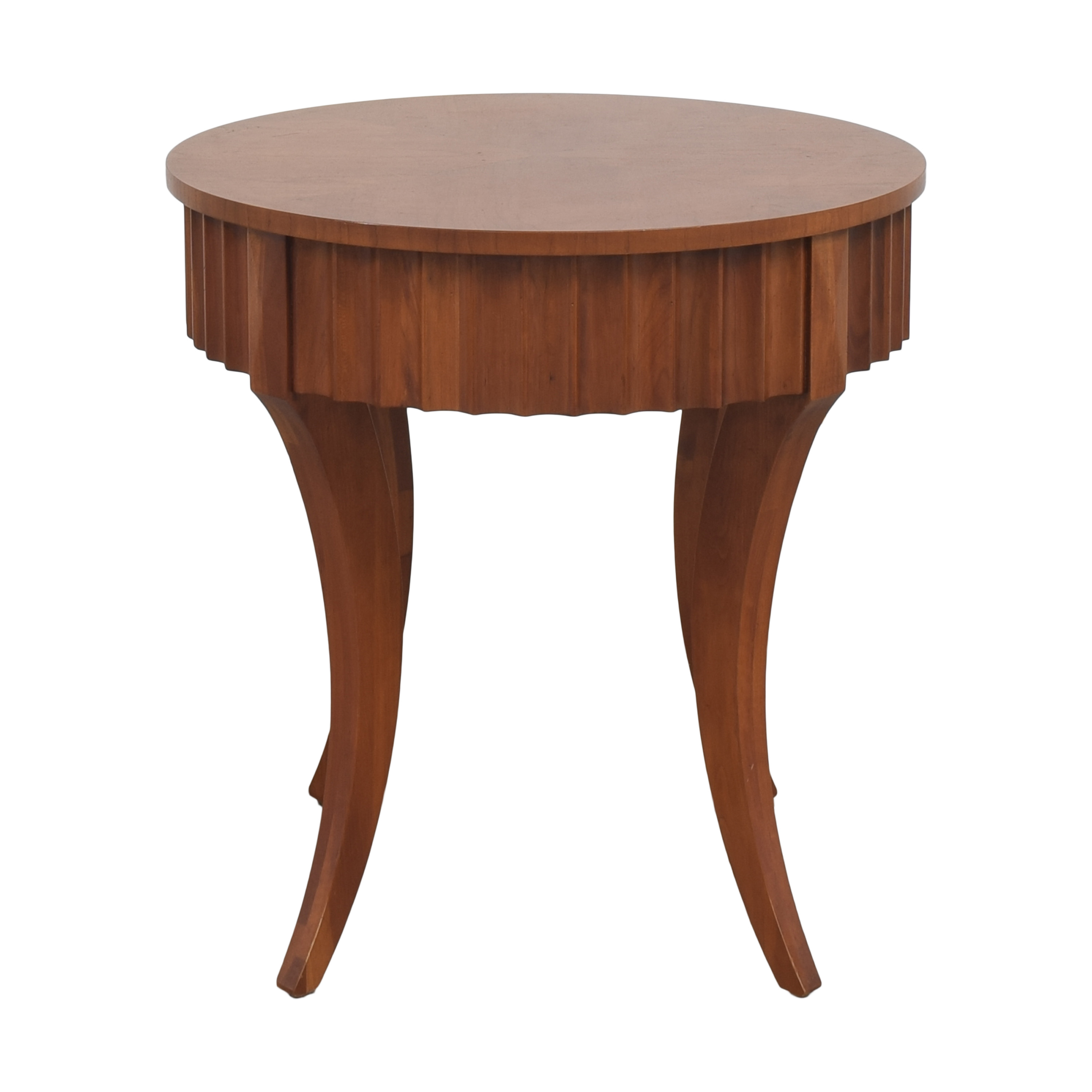 Ethan Allen Ethan Allen Avenue Round End Table ct