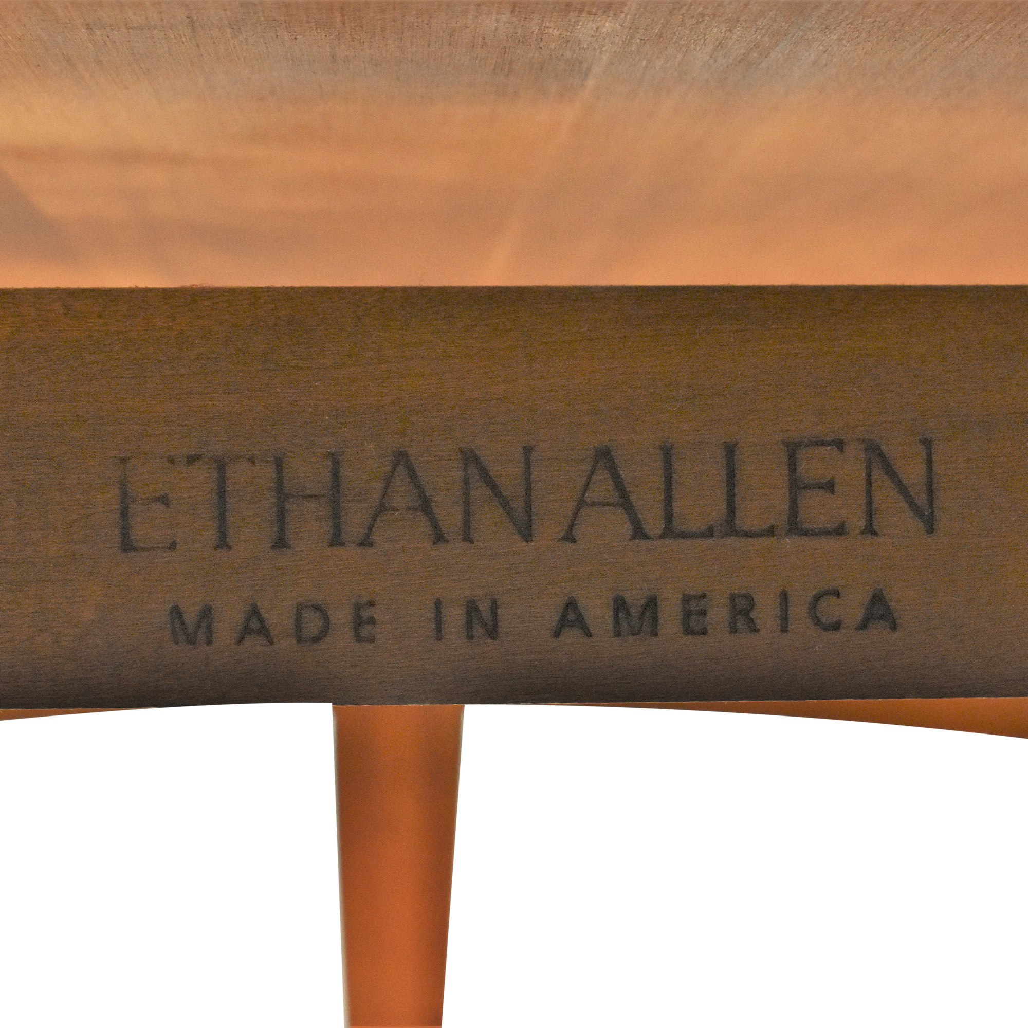 Ethan Allen Ethan Allen Avenue Oval Coffee Table on sale