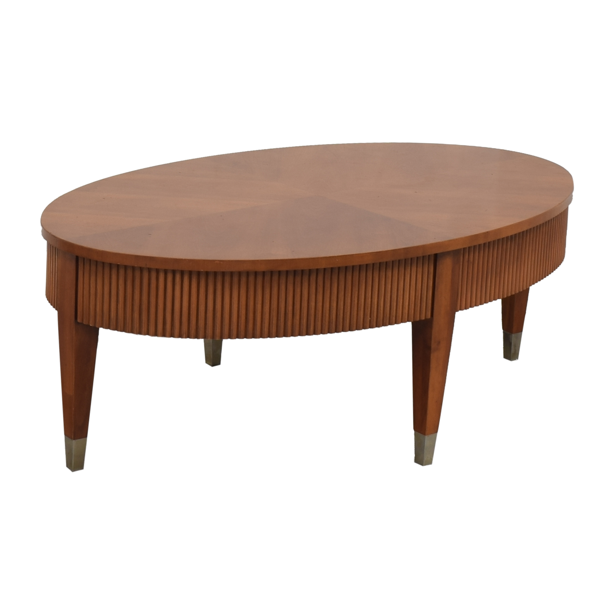 Ethan Allen Ethan Allen Avenue Oval Coffee Table coupon