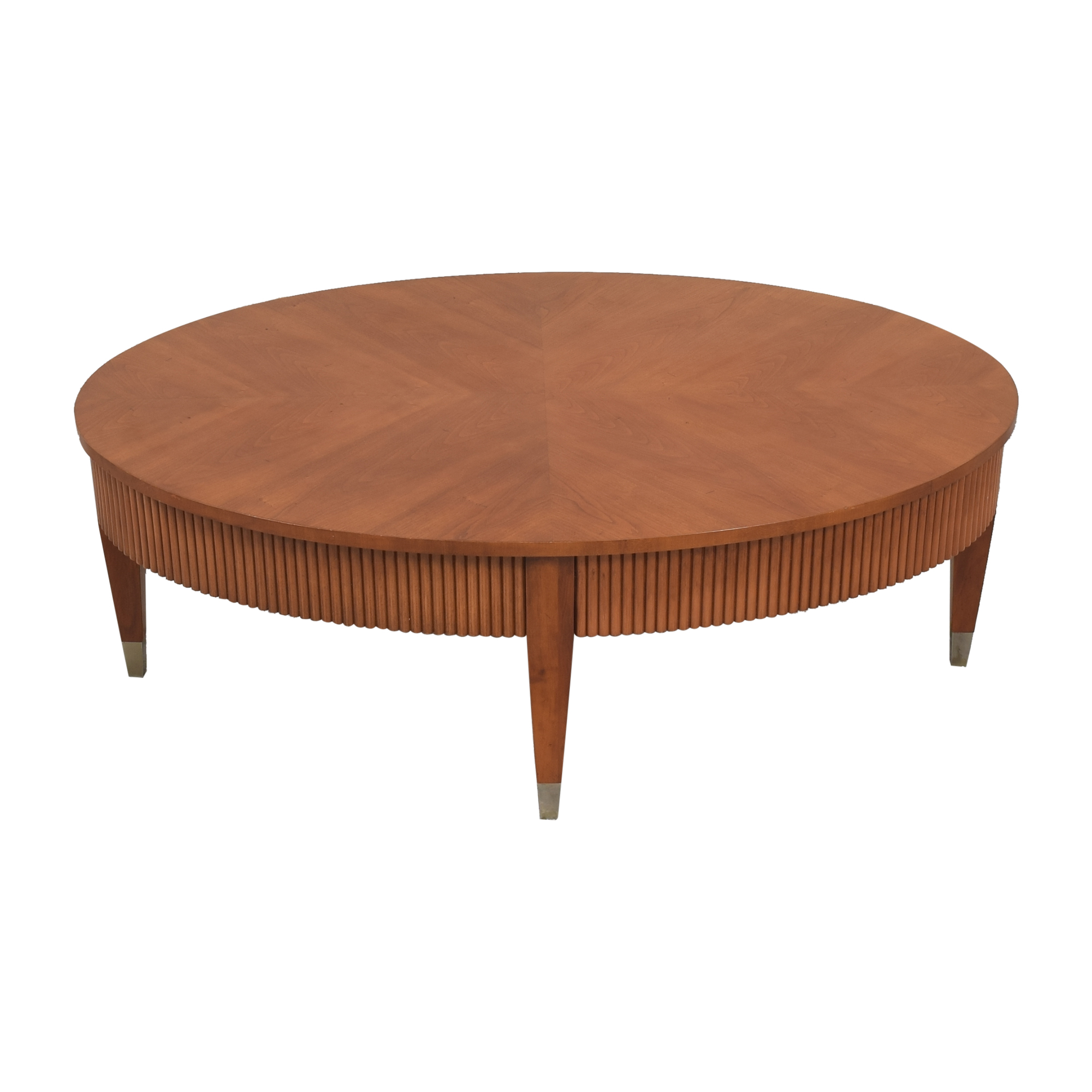 Ethan Allen Ethan Allen Avenue Oval Coffee Table dimensions