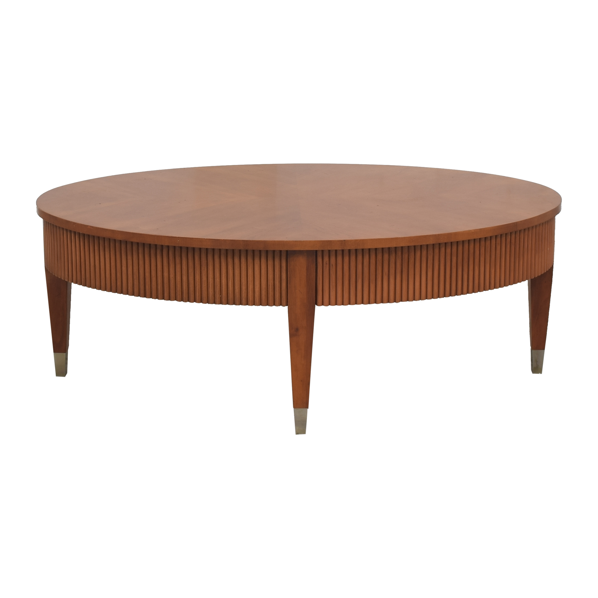 Ethan Allen Ethan Allen Avenue Oval Coffee Table nyc