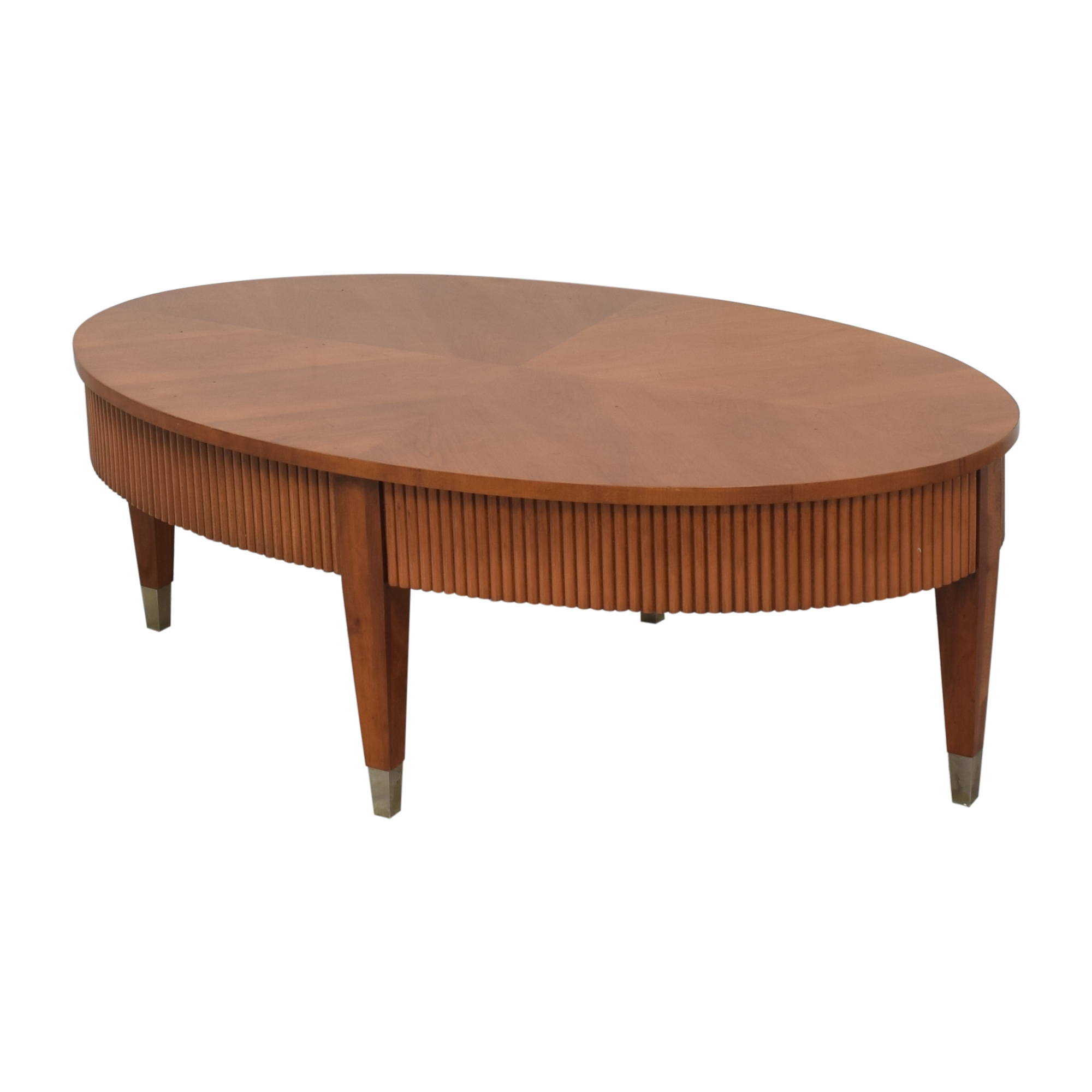 Ethan Allen Ethan Allen Avenue Oval Coffee Table for sale