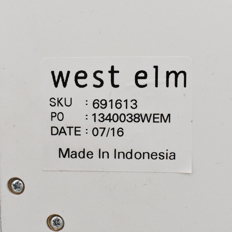 West Elm West Elm Tiled Six Drawer Dresser ma