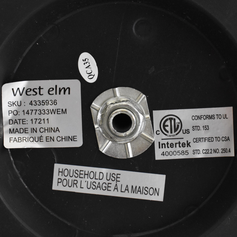 shop West Elm West Elm Telescoping Adjustable Floor Lamp online