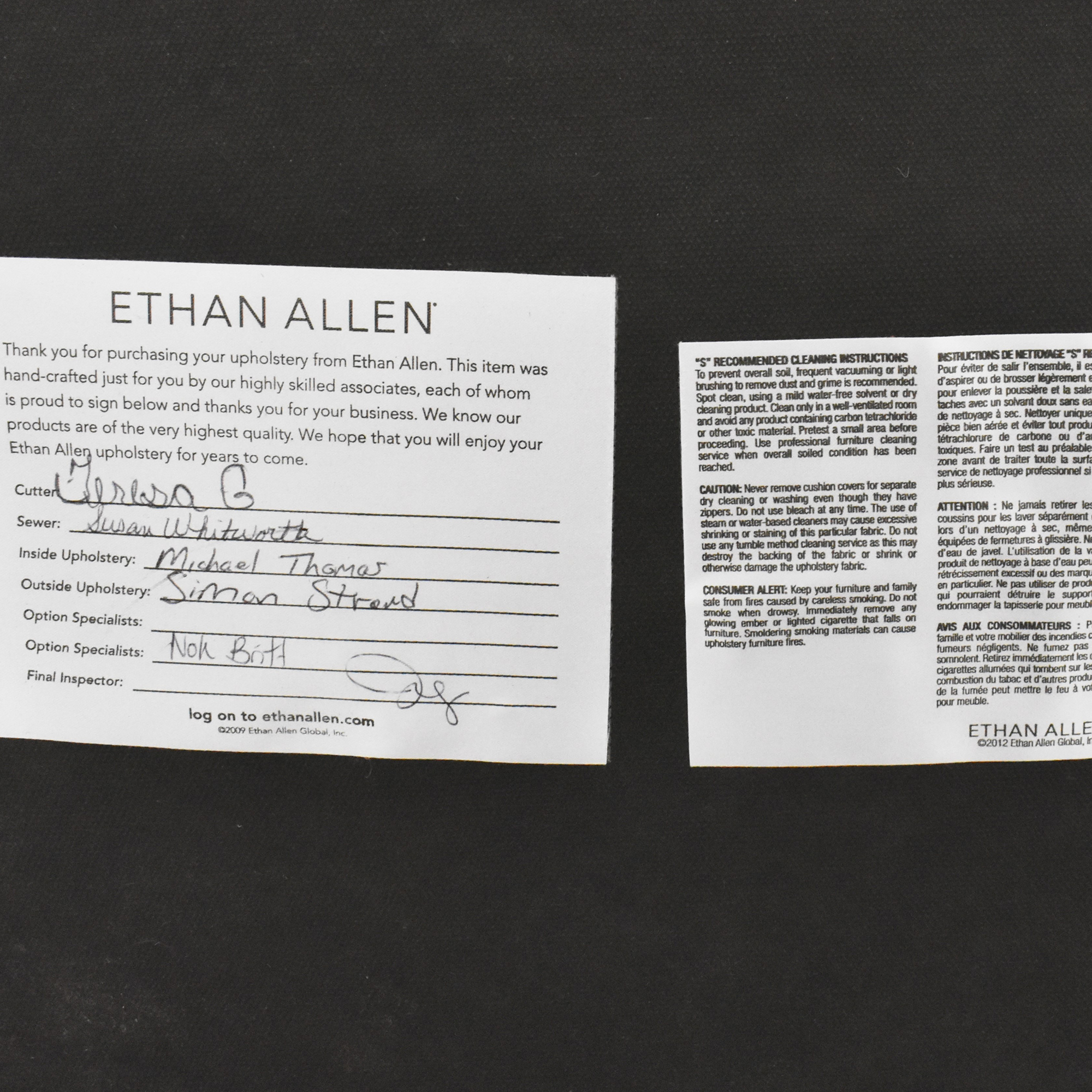 shop Ethan Allen Ethan Allen Thomas Armchair online
