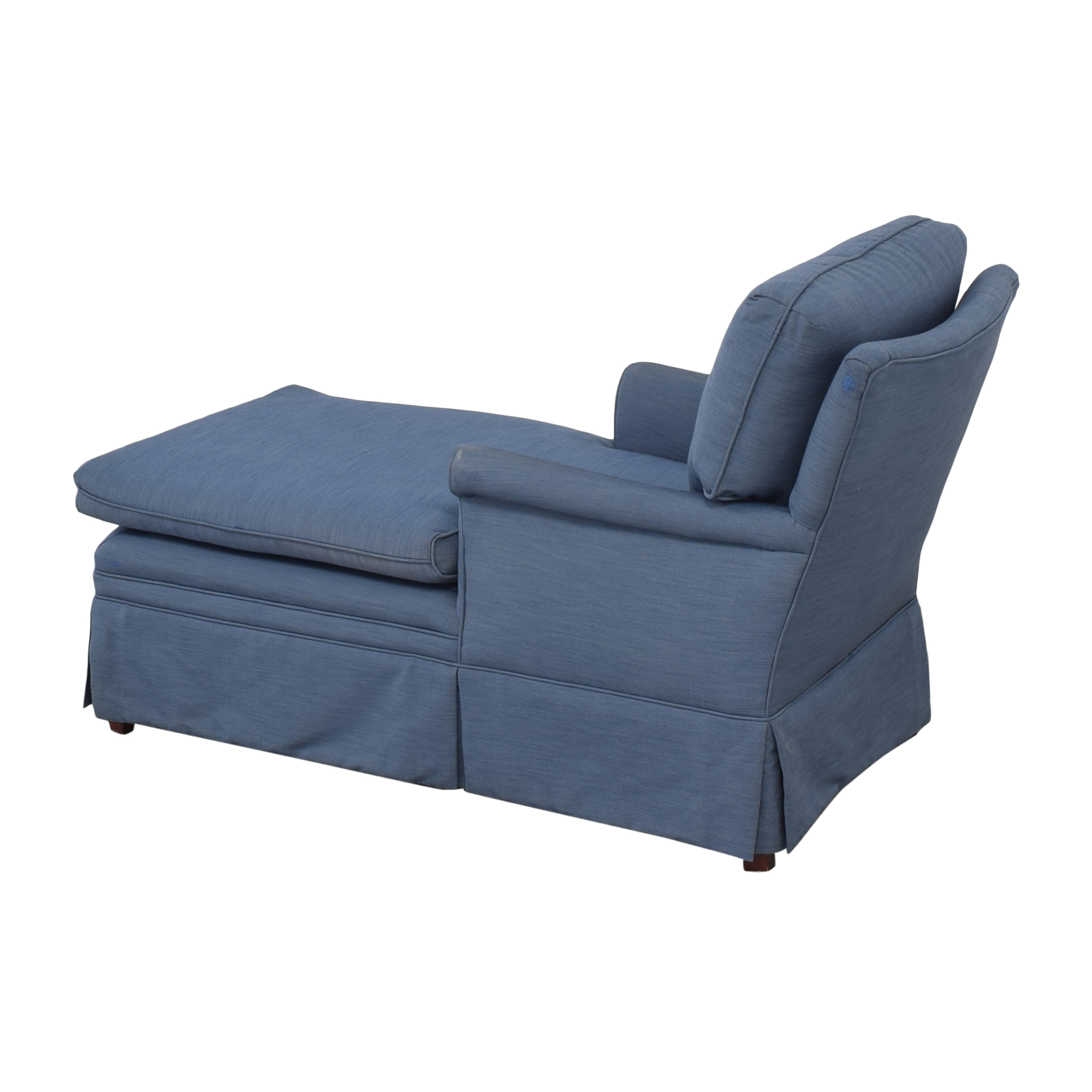 44 Off Skirted Chaise Lounge Chair Sofas