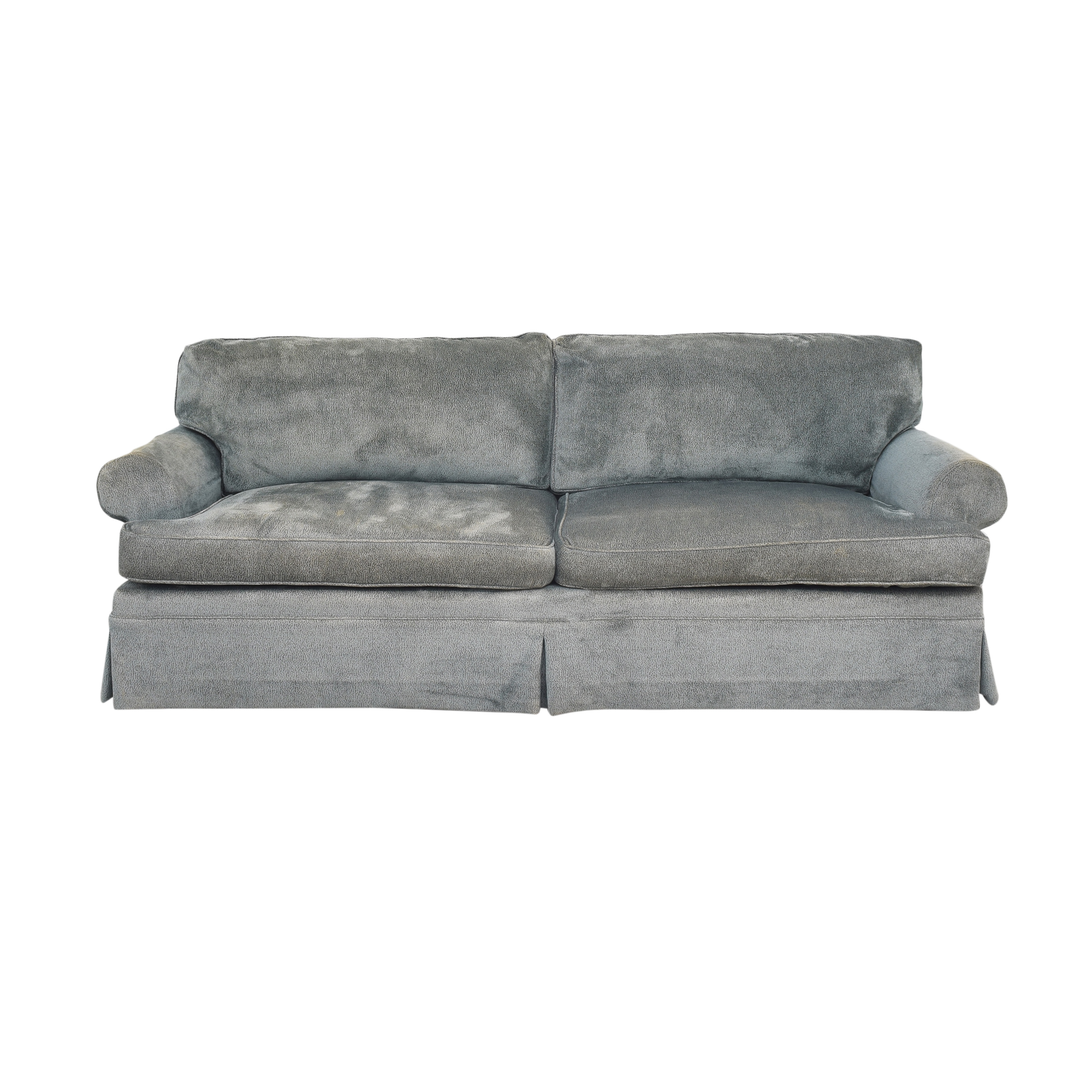 Baker Furniture Baker Furniture Skirted Sofa dimensions