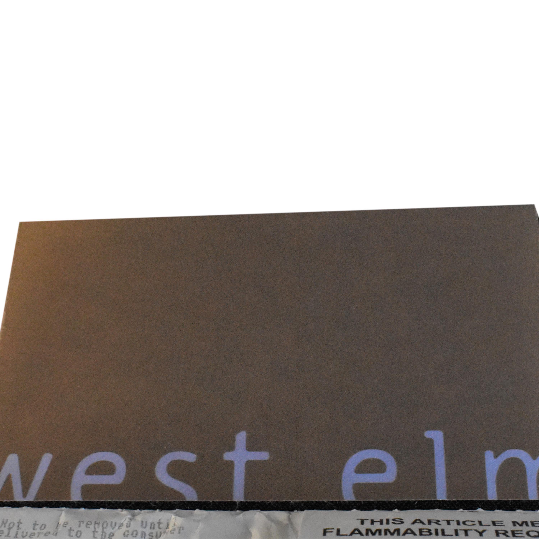 shop West Elm Shelter 2-Piece Terminal Chaise Sectional West Elm Sofas