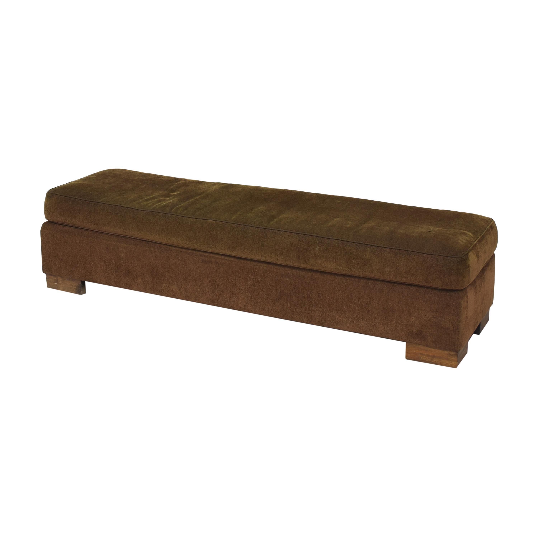 Custom Bench Ottoman on sale