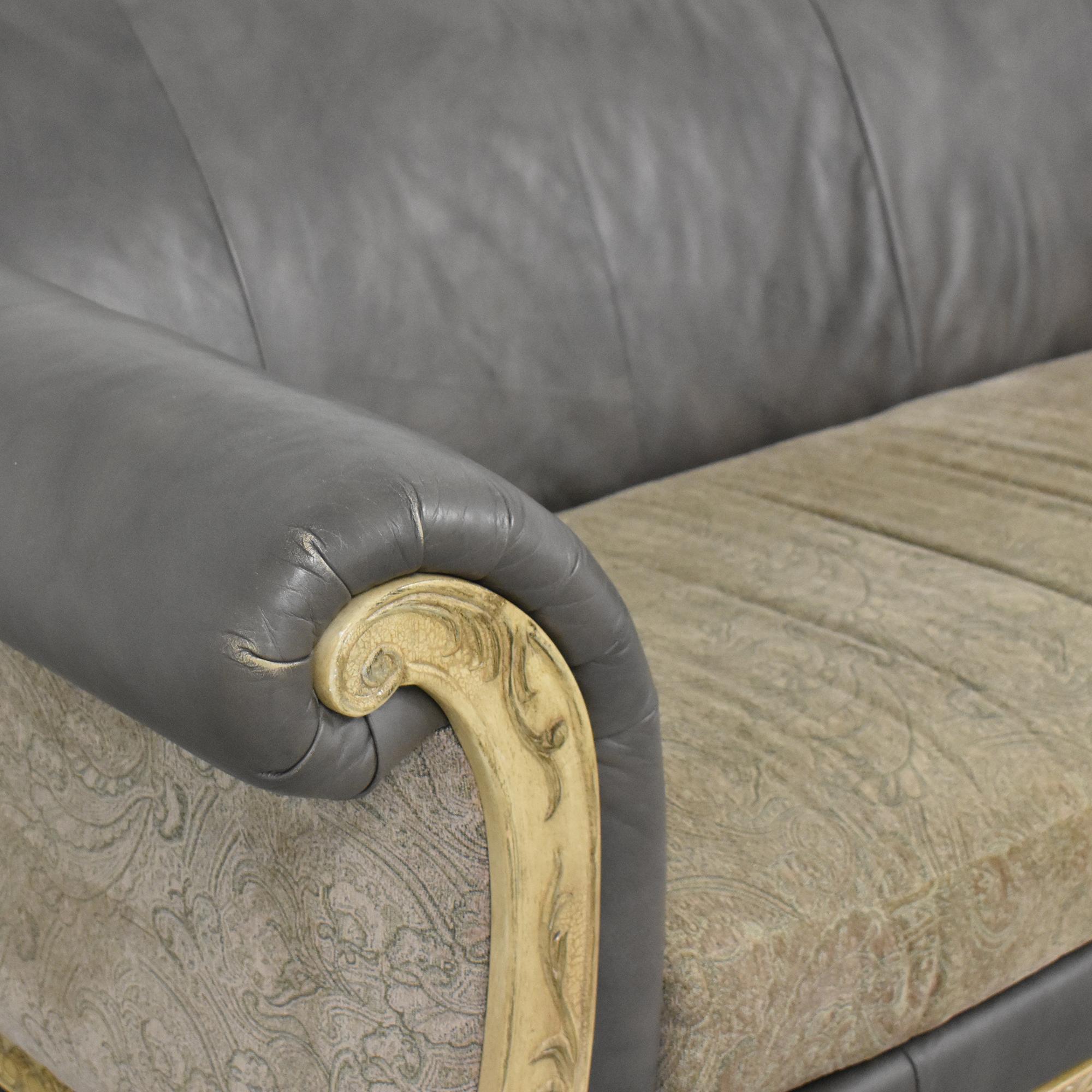 Schnadig Decorative Bench Cushion Sofa sale