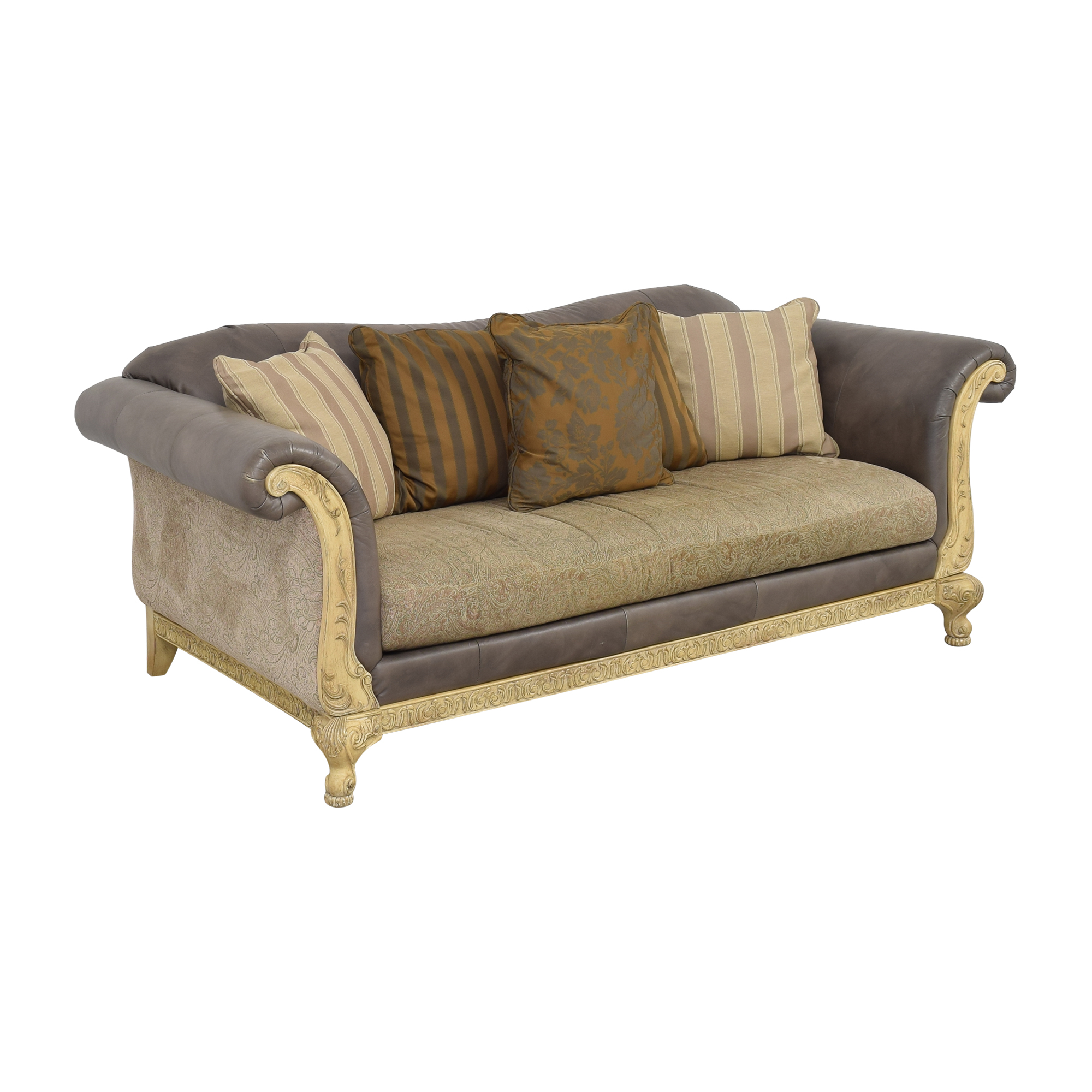 Schnadig Decorative Bench Cushion Sofa / Classic Sofas