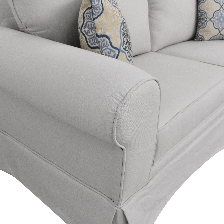 shop Raymour & Flanigan Raymour & Flanigan Roll Arm Sofa online