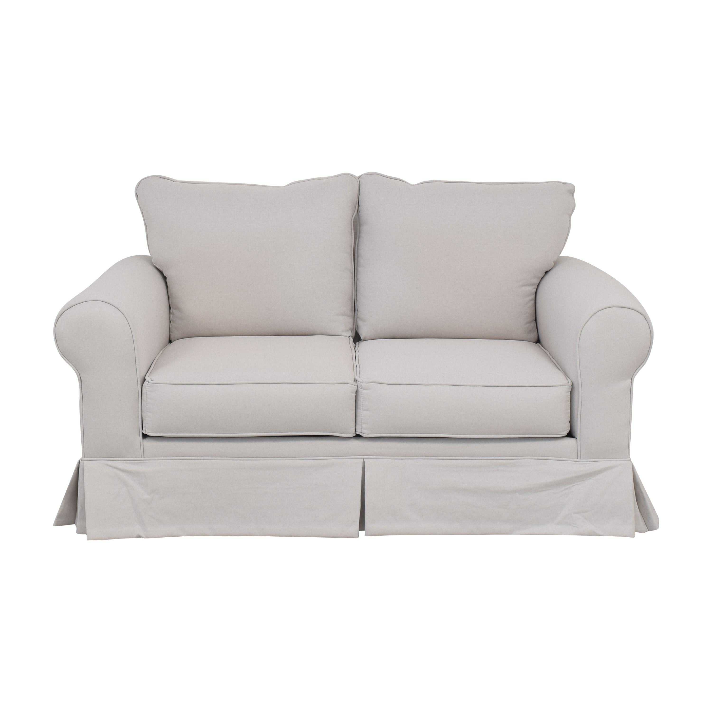 Raymour & Flanigan Raymour & Flanigan Skirted Loveseat price
