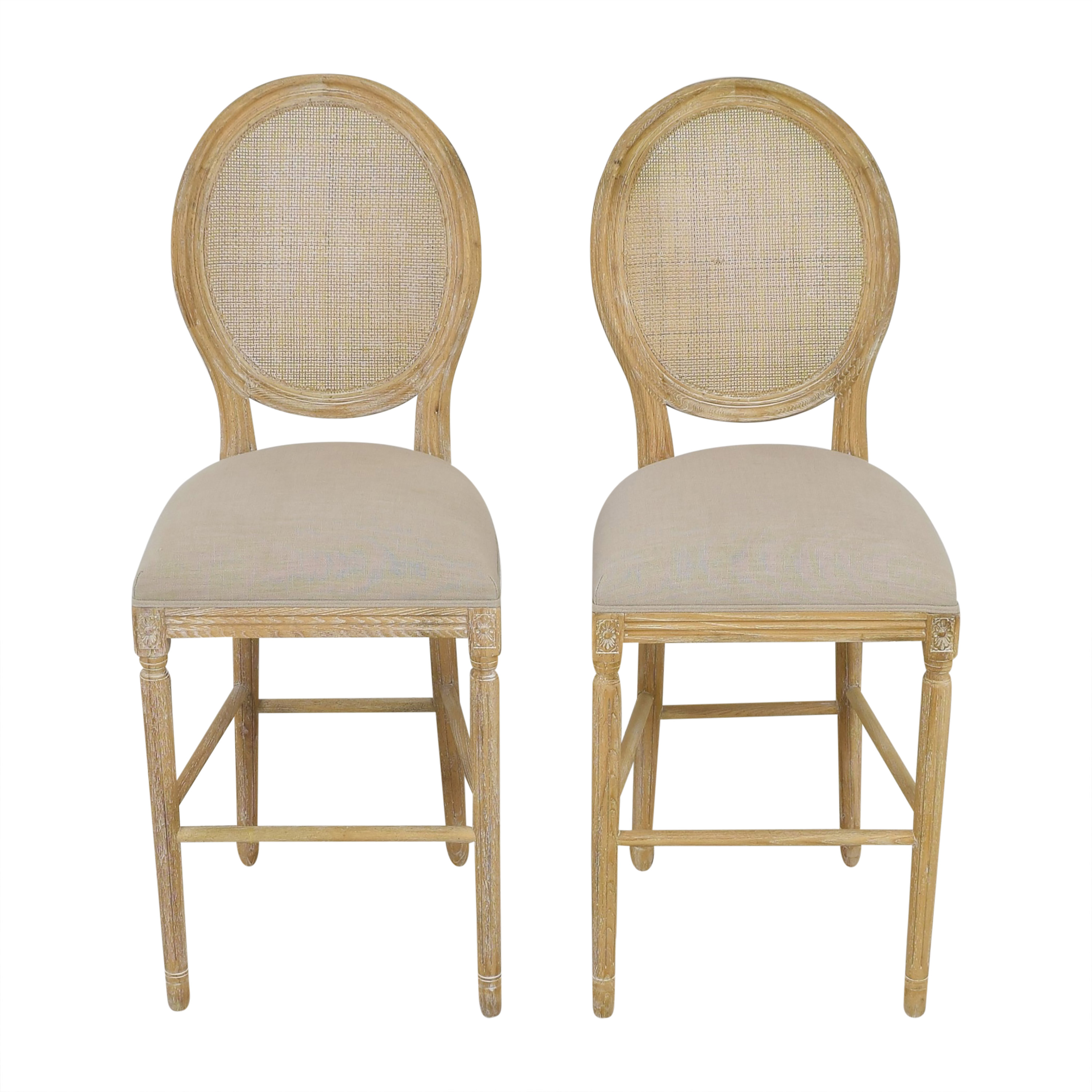 Wisteria Wisteria Upholstered Bar Stools Chairs