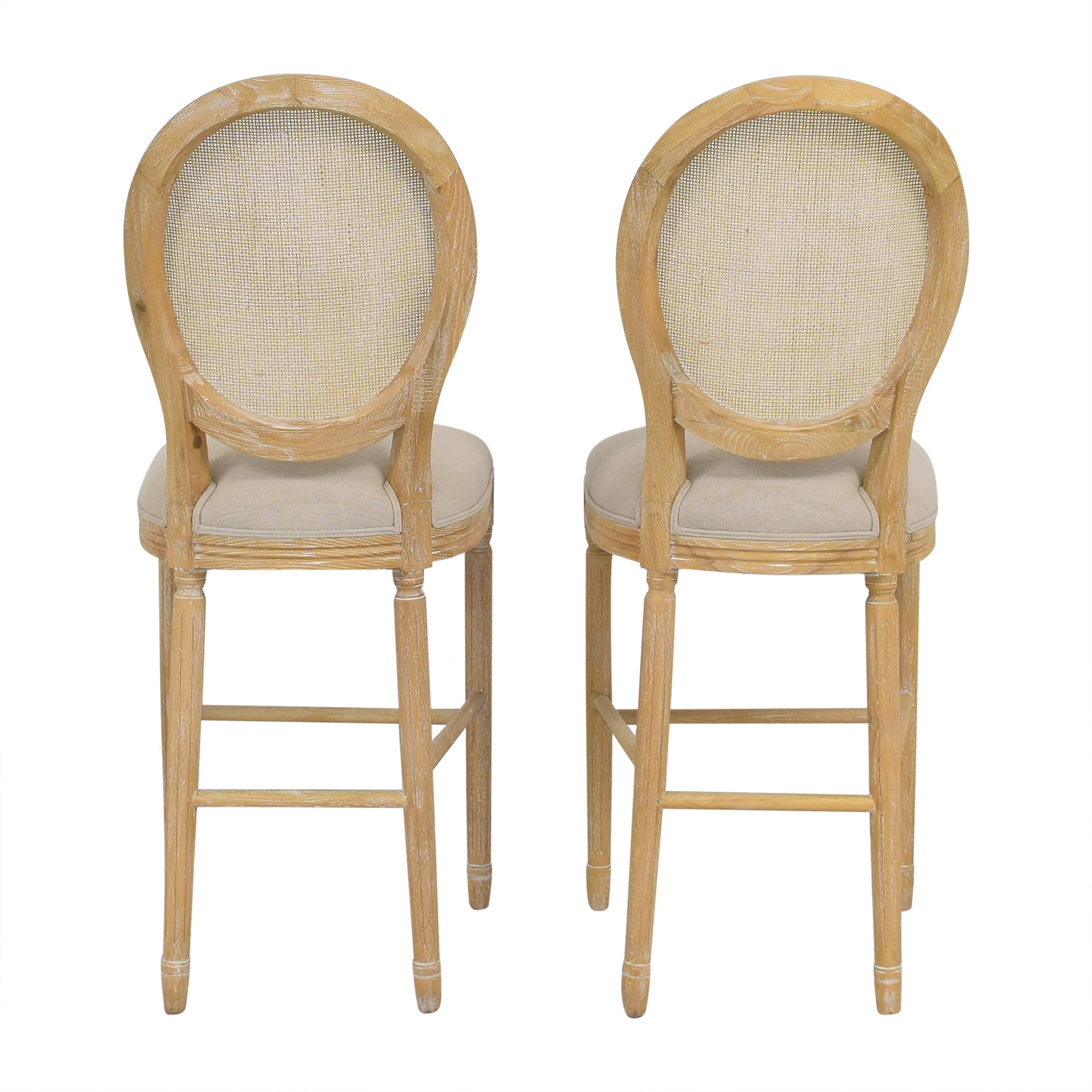 Wisteria Wisteria Upholstered Bar Stools price