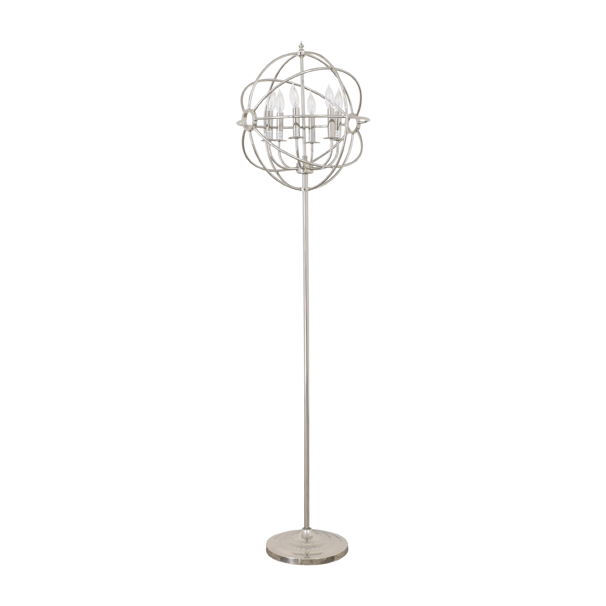Restoration Hardware Restoration Hardware Foucault's Orb Floor Lamp for sale